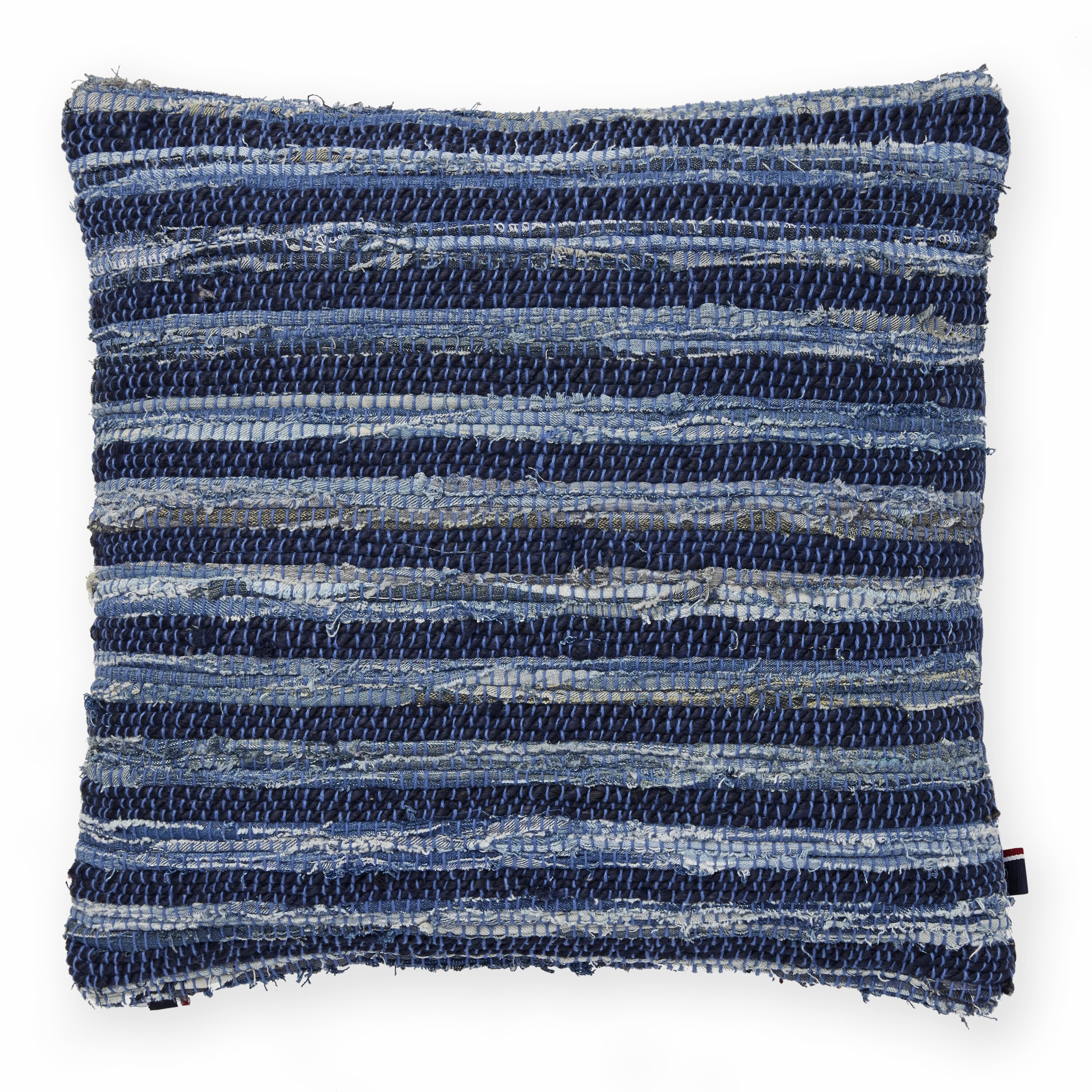 Tommy Hilfiger Decorative Bed Pillows : Tommy Hilfiger Rag Rug Decorative Throw Pillow & Reviews Wayfair
