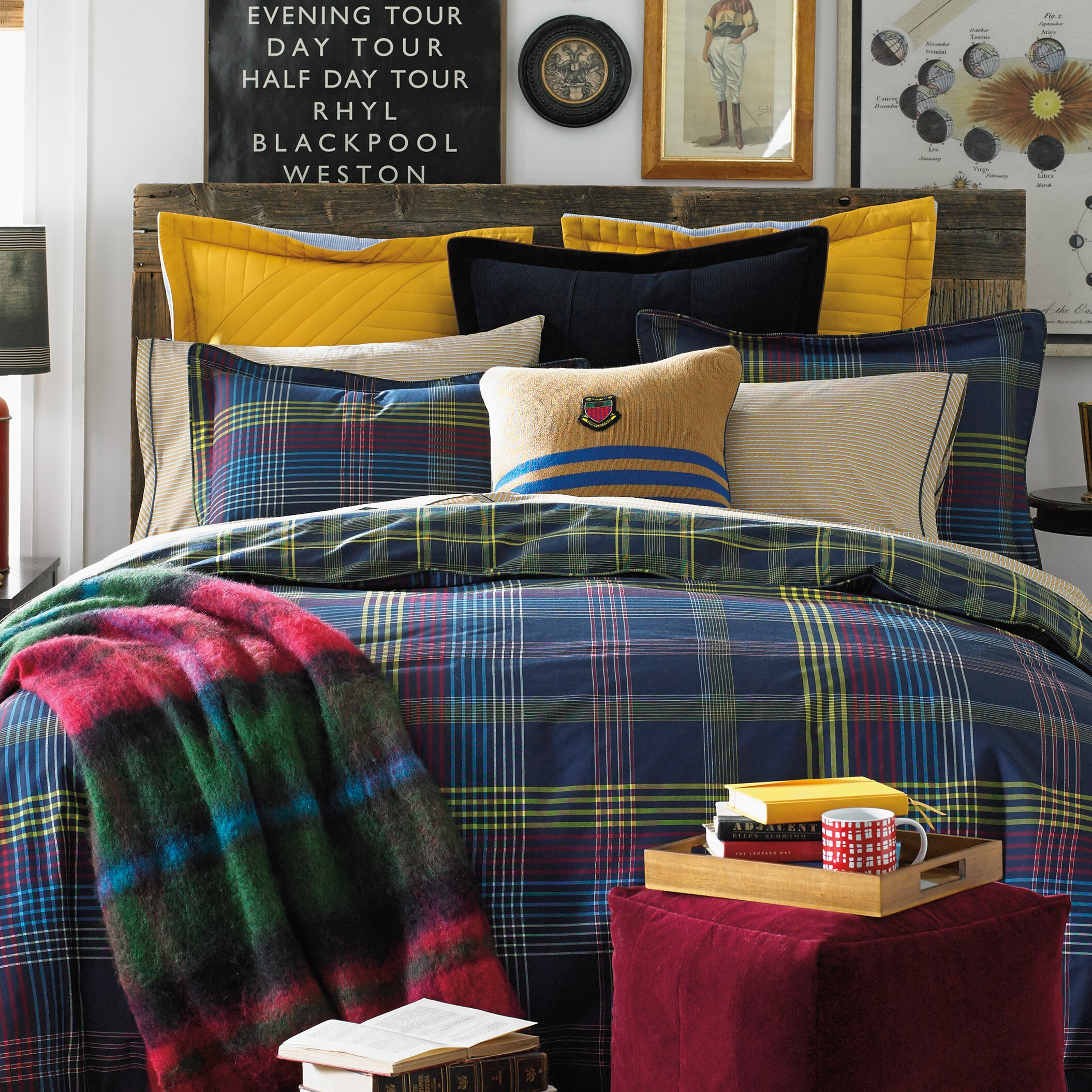 Tommy Hilfiger Glasgow Comforter Set Wayfair