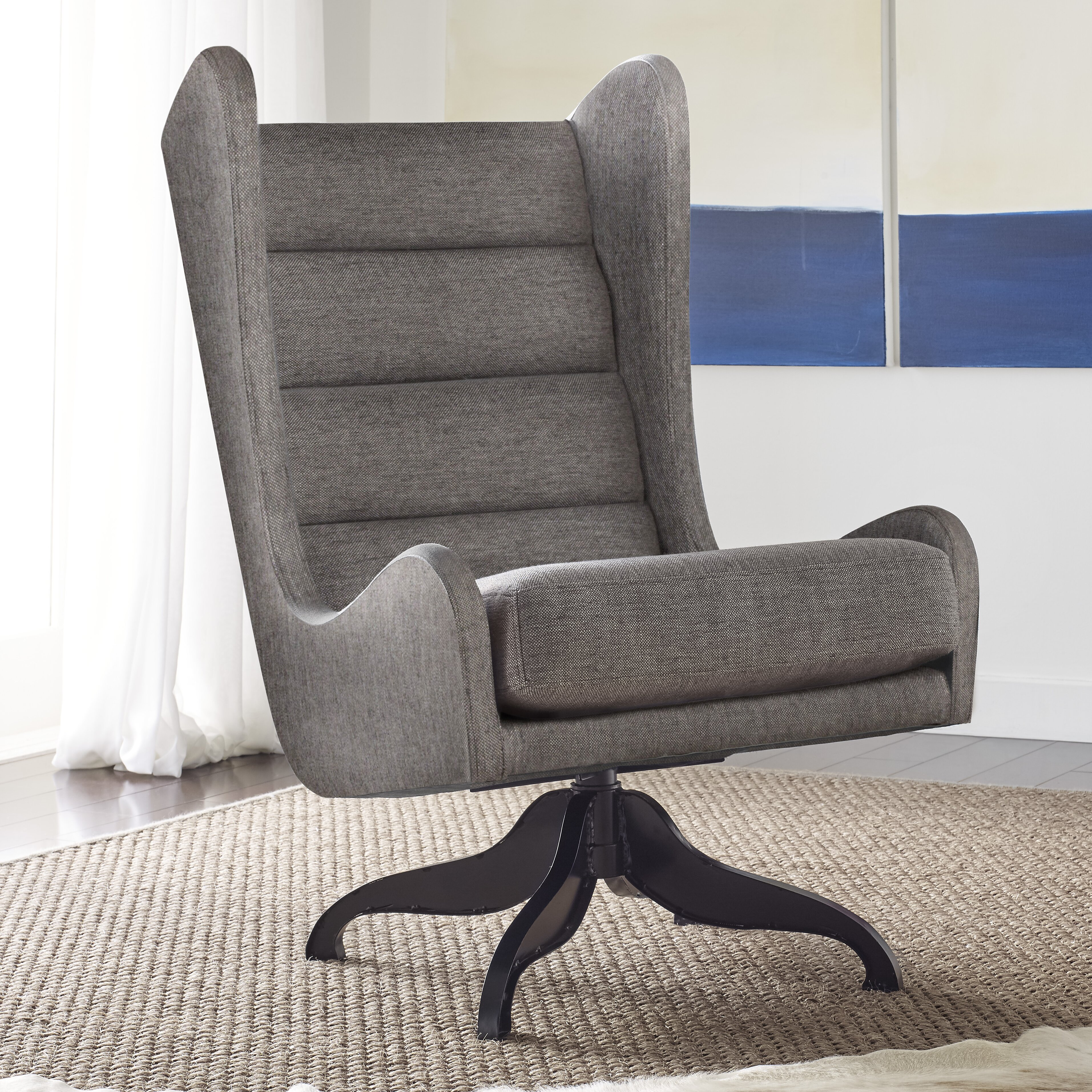 Tommy Hilfiger Helios Wingback Chair Wayfair