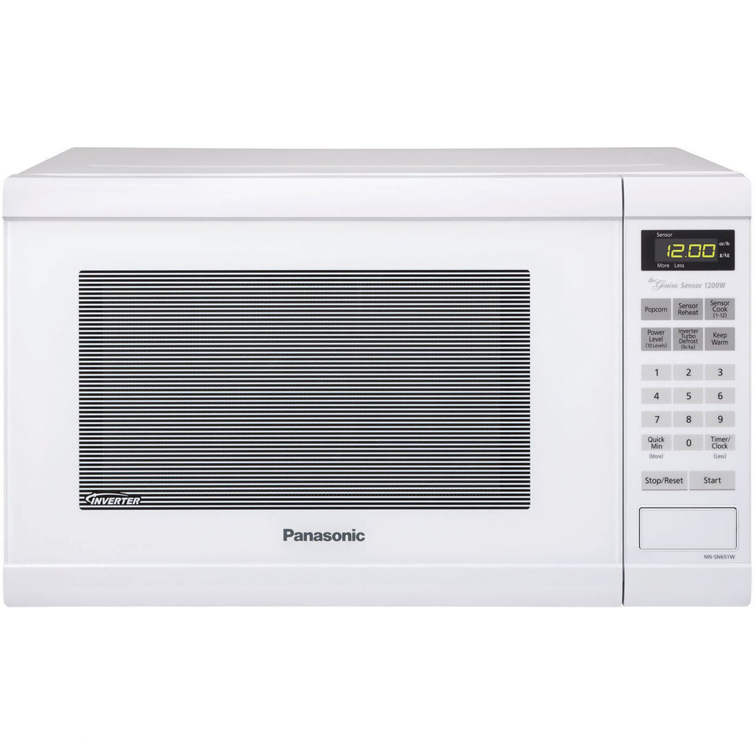 Countertop Microwave At Best Buy : Kitchen & Tabletop Kitchen Appliances ... Panasonic Part #: NN-SN651B ...
