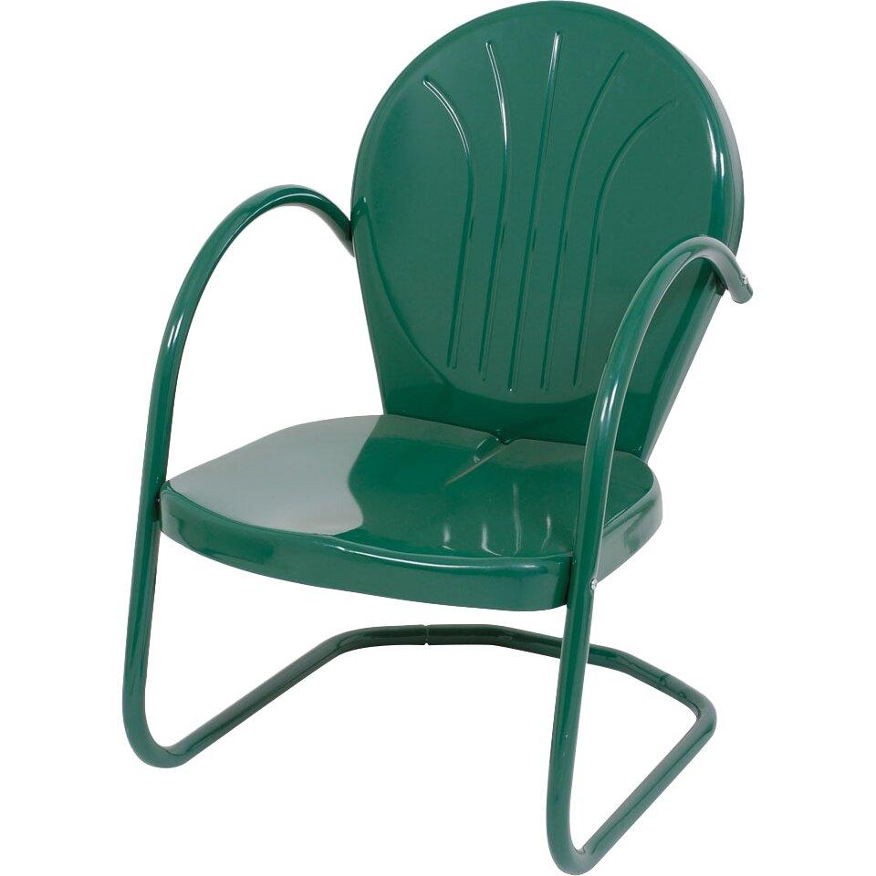 Atlantic Outdoor Metal Tulip Dining Arm Chair & Reviews