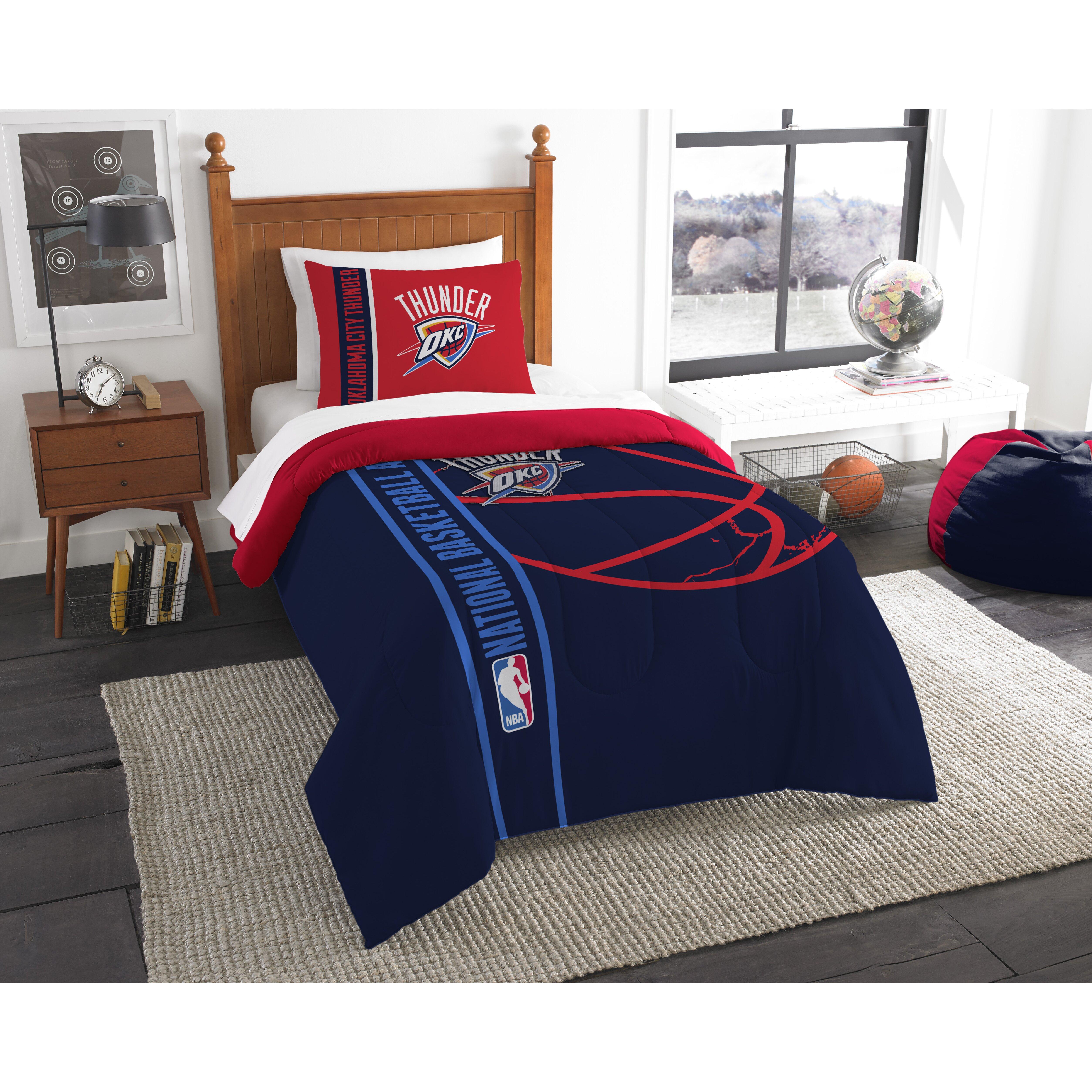 Okc Thunder Bedroom Decor Basketball Comforter Sets