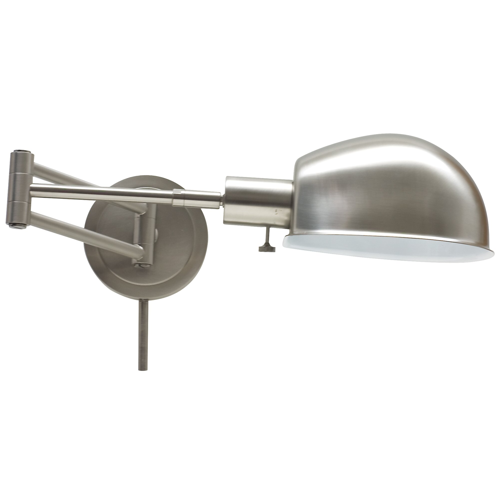 Wall Lamp Adjustable Arm : House of Troy Addison Adjustable Pharmacy Swing Arm Wall Lamp & Reviews Wayfair