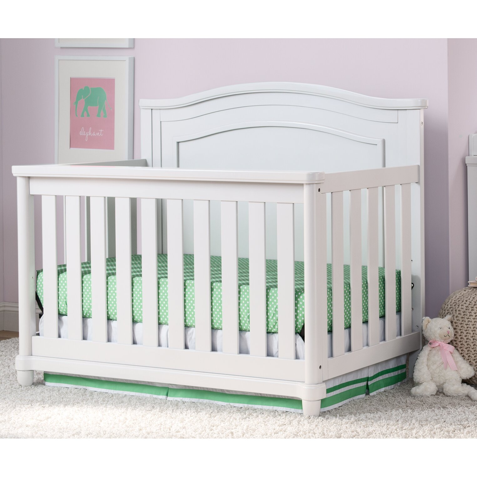 Simmons Kids Belmont 4 In 1 Convertible Crib Amp Reviews