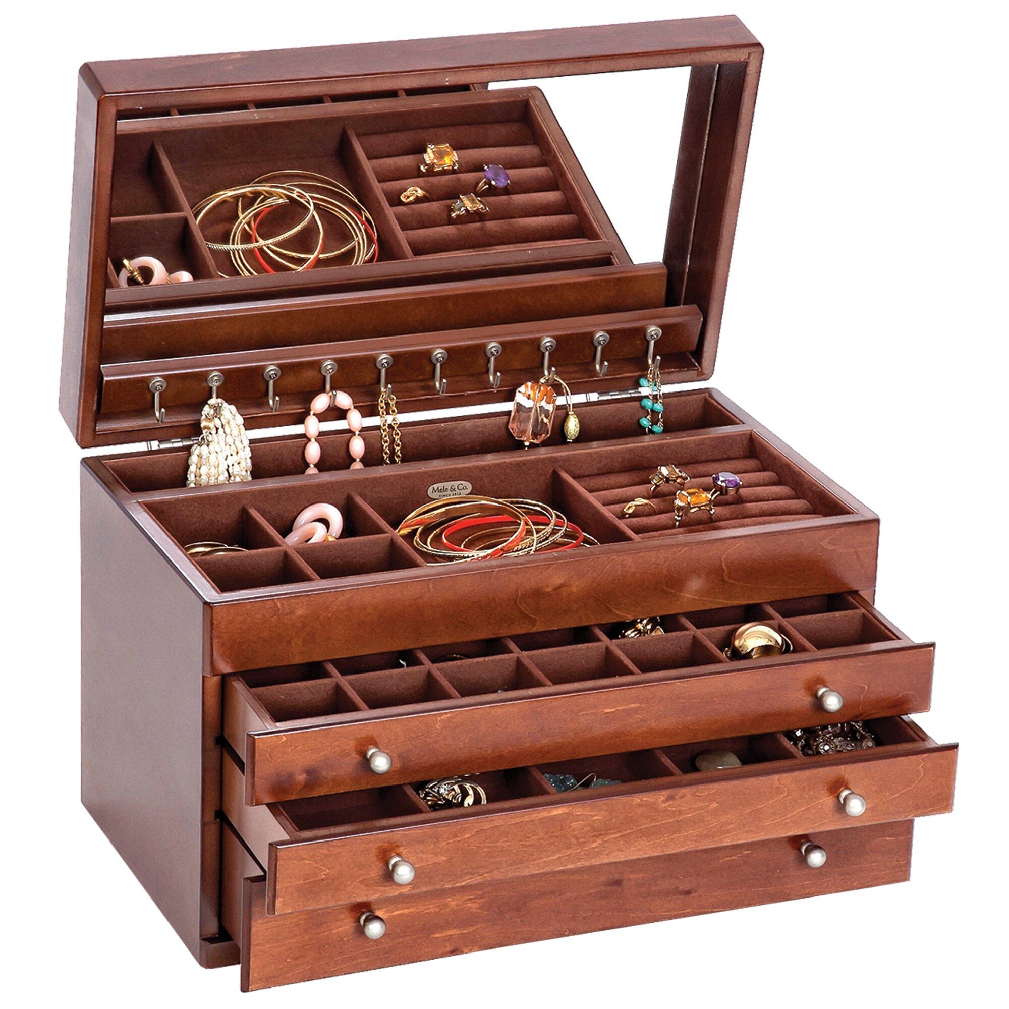 mele co brigitte jewelry box reviews wayfair