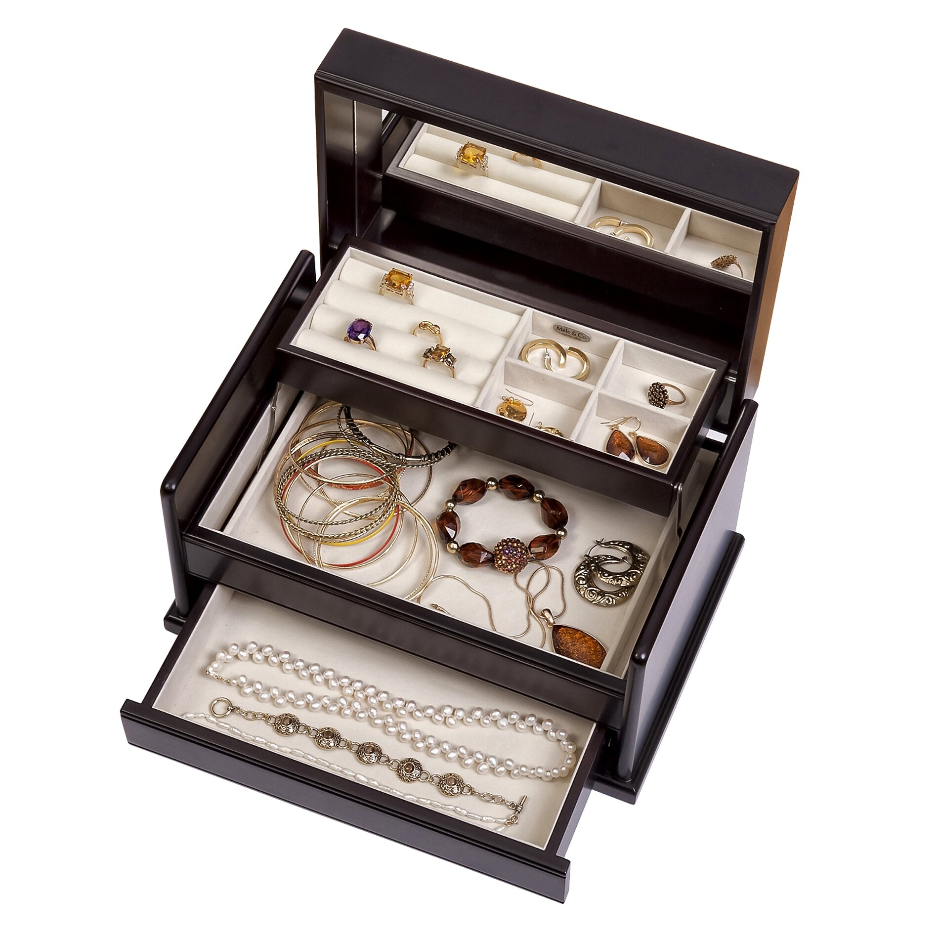 mele co juliette jewelry box reviews wayfair supply