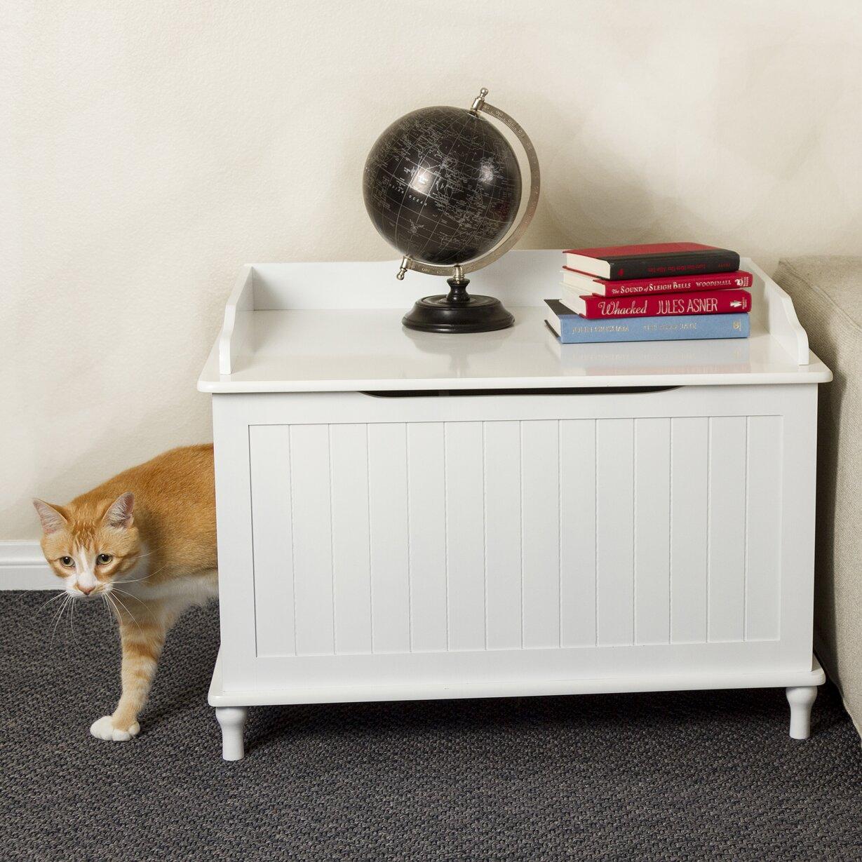 Designer Pet Products Mia Litter Box Enclosure u0026 Reviews : Wayfair