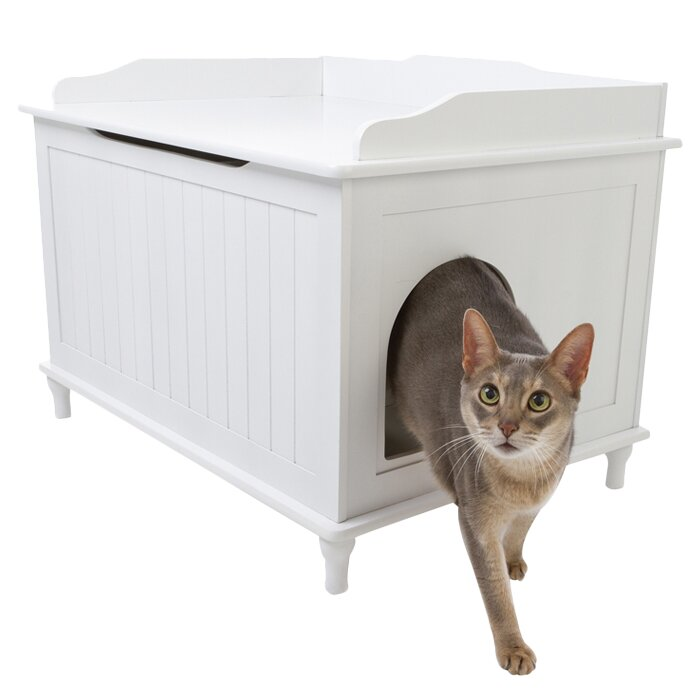 Litter Box Enclosure By Designer Pet Products