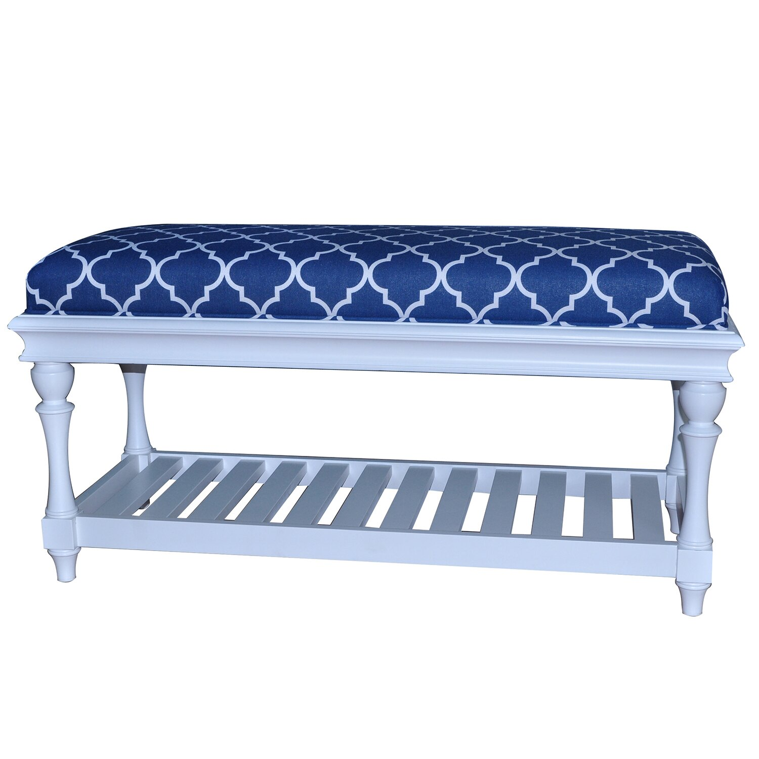crestview atlantic upholstered accent bedroom bench