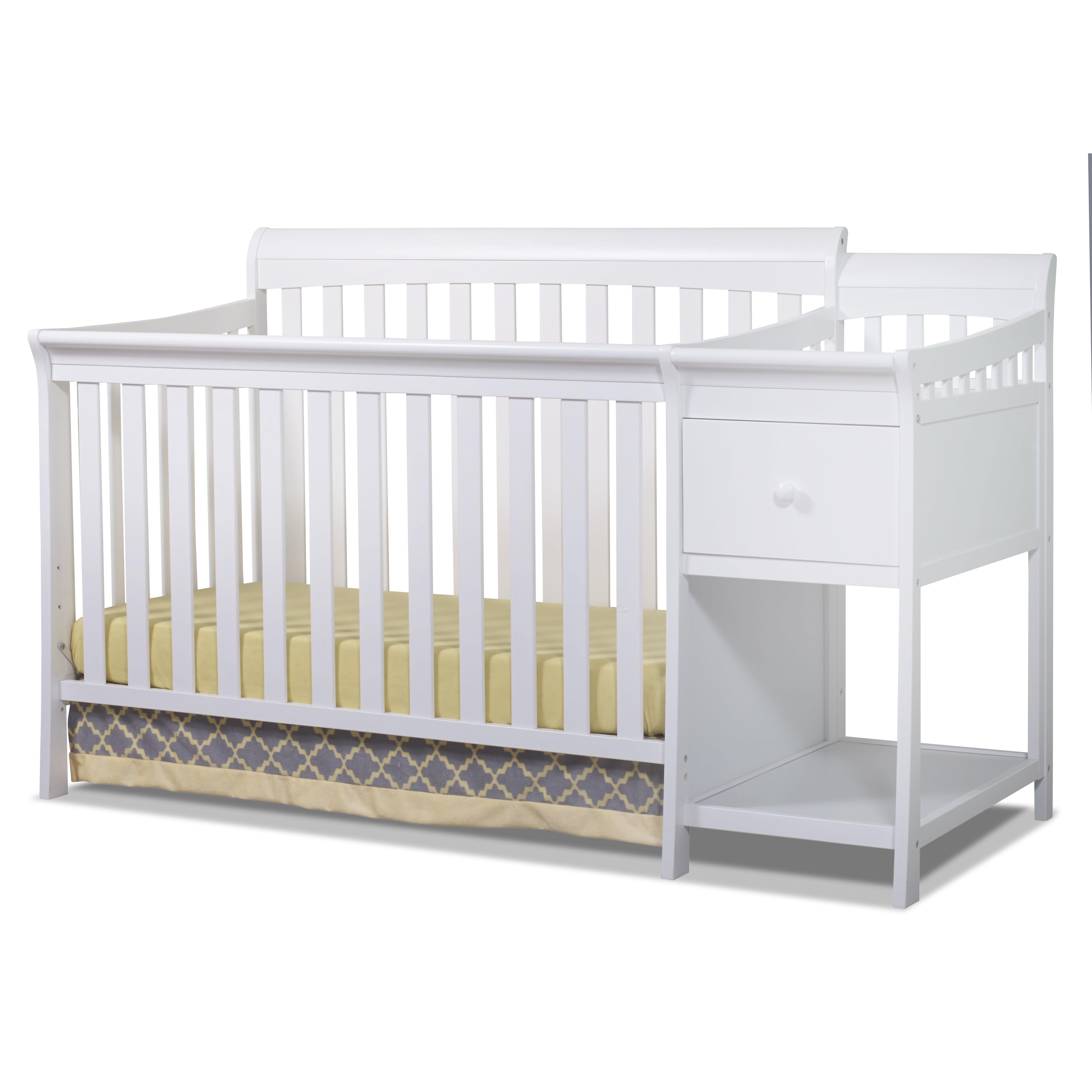 Sorelle Florence 4 In 1 Convertible Crib Amp Reviews Wayfair