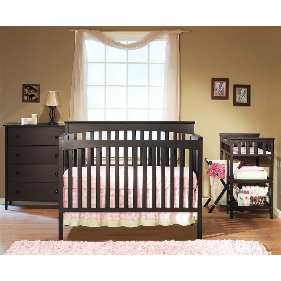 sorelle petite paradise 4 in 1 elite room in a box 5 piece convertible crib set reviews. Black Bedroom Furniture Sets. Home Design Ideas