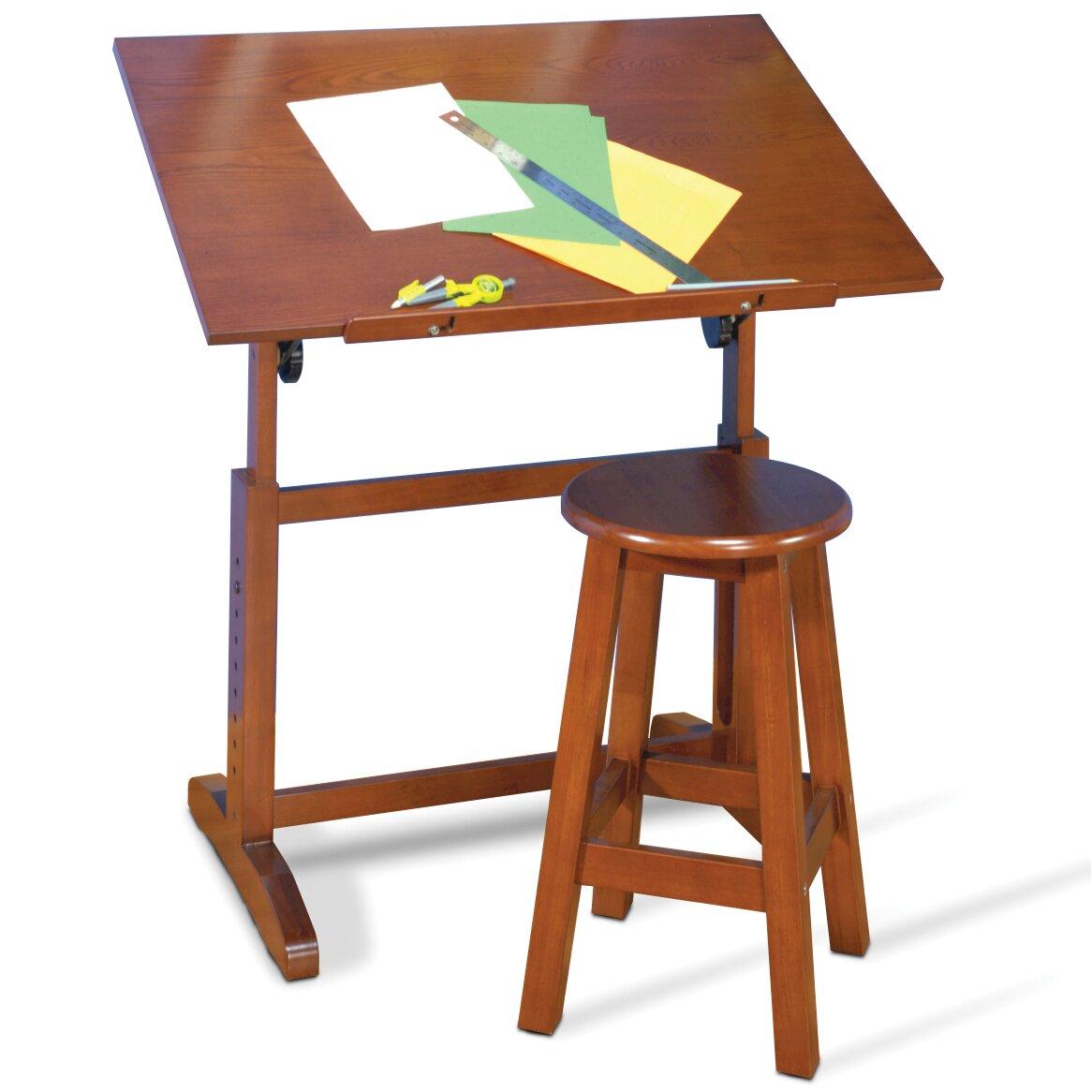 Studio Designs Creative Hardwood 36 Quot W X 24 Quot D Drafting