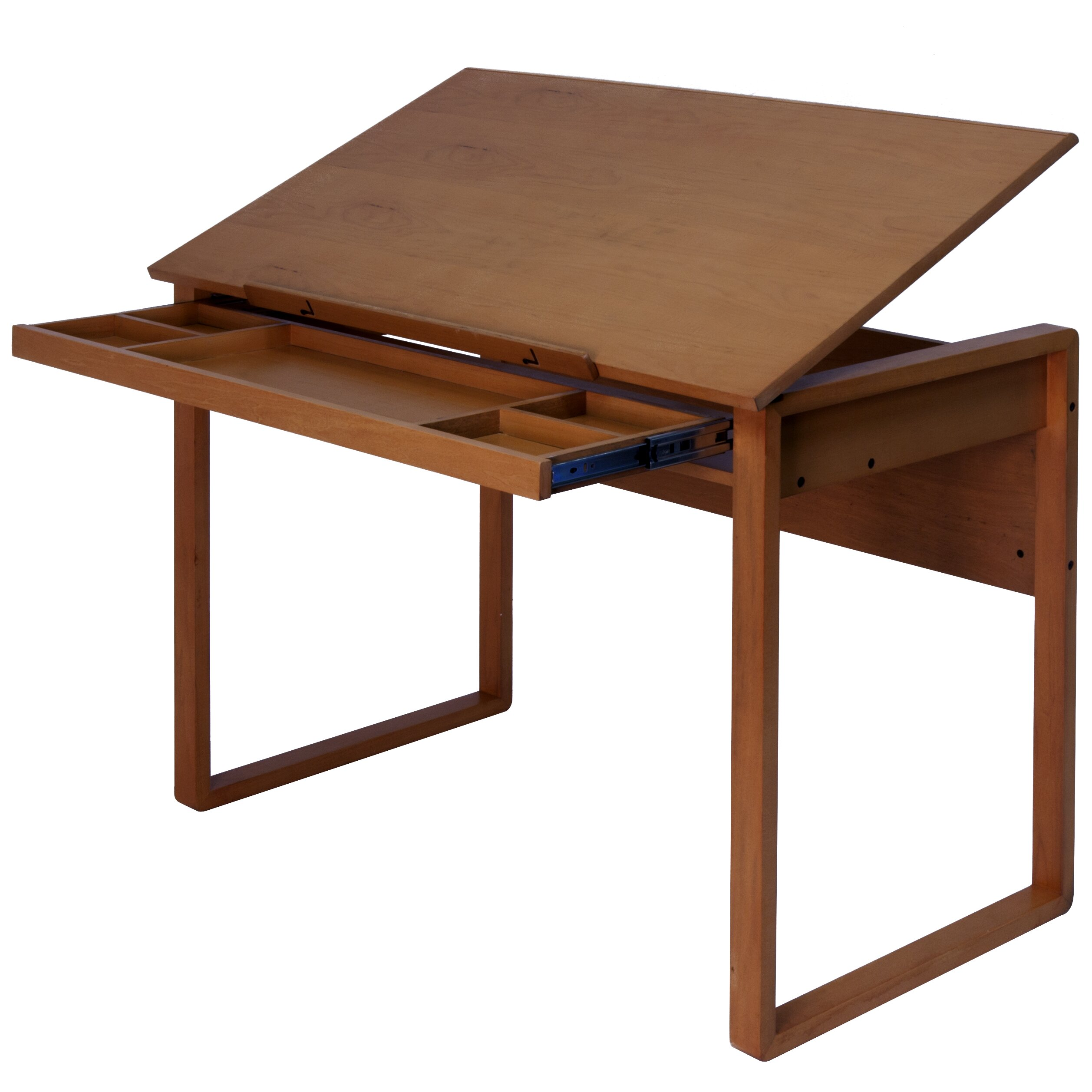 studio designs ponderosa 42 w x 24 d drafting table