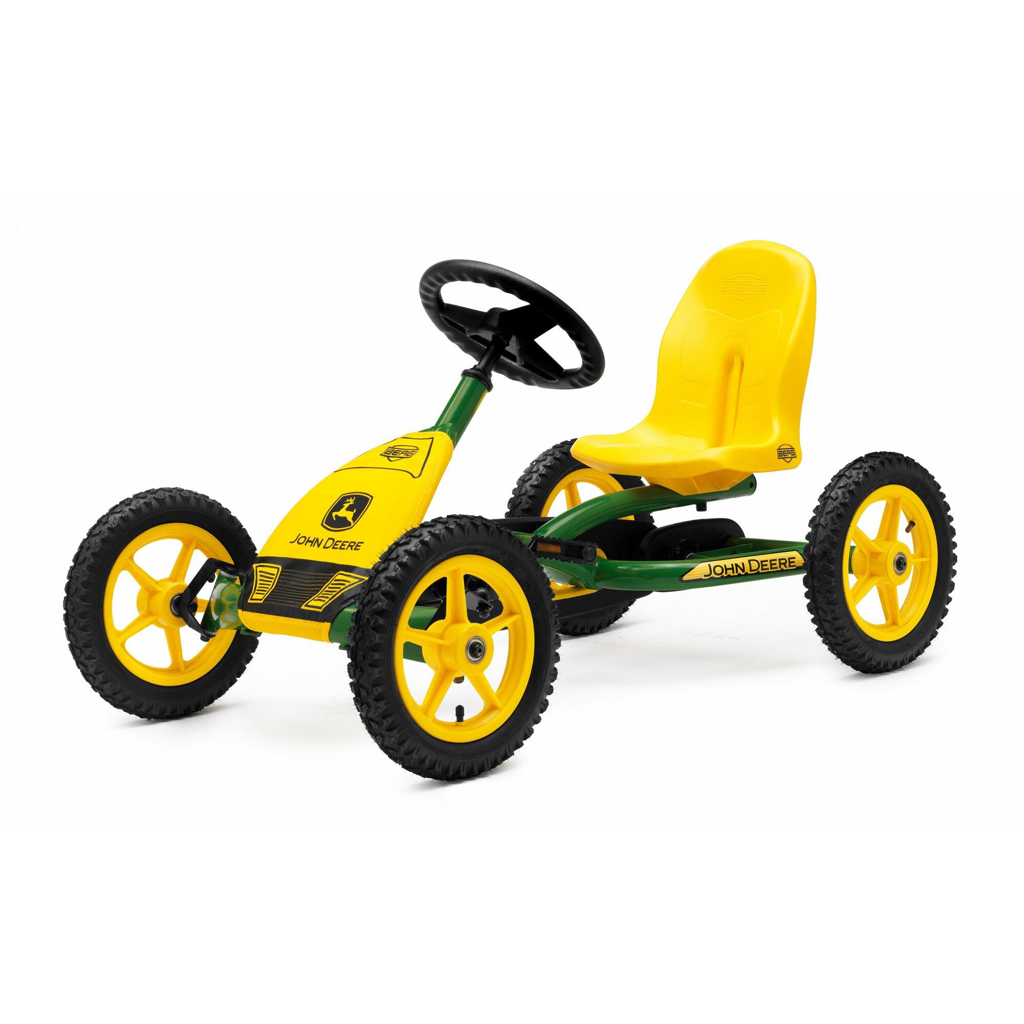 Berg Toys Buddy John Deere Pedal Go Kart & Reviews | Wayfair