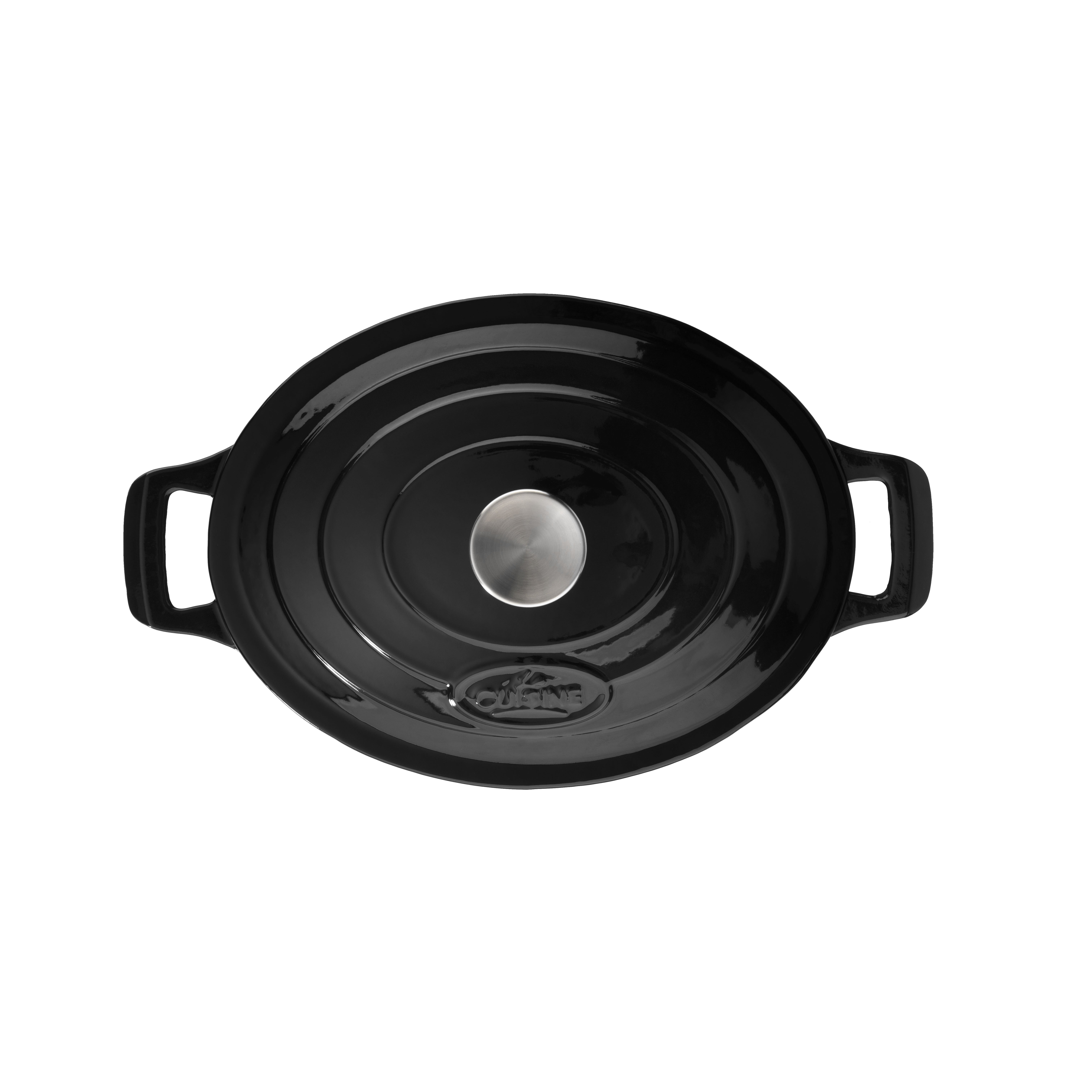 La cuisine cookware cast iron round casserole reviews for Art and cuisine cookware review