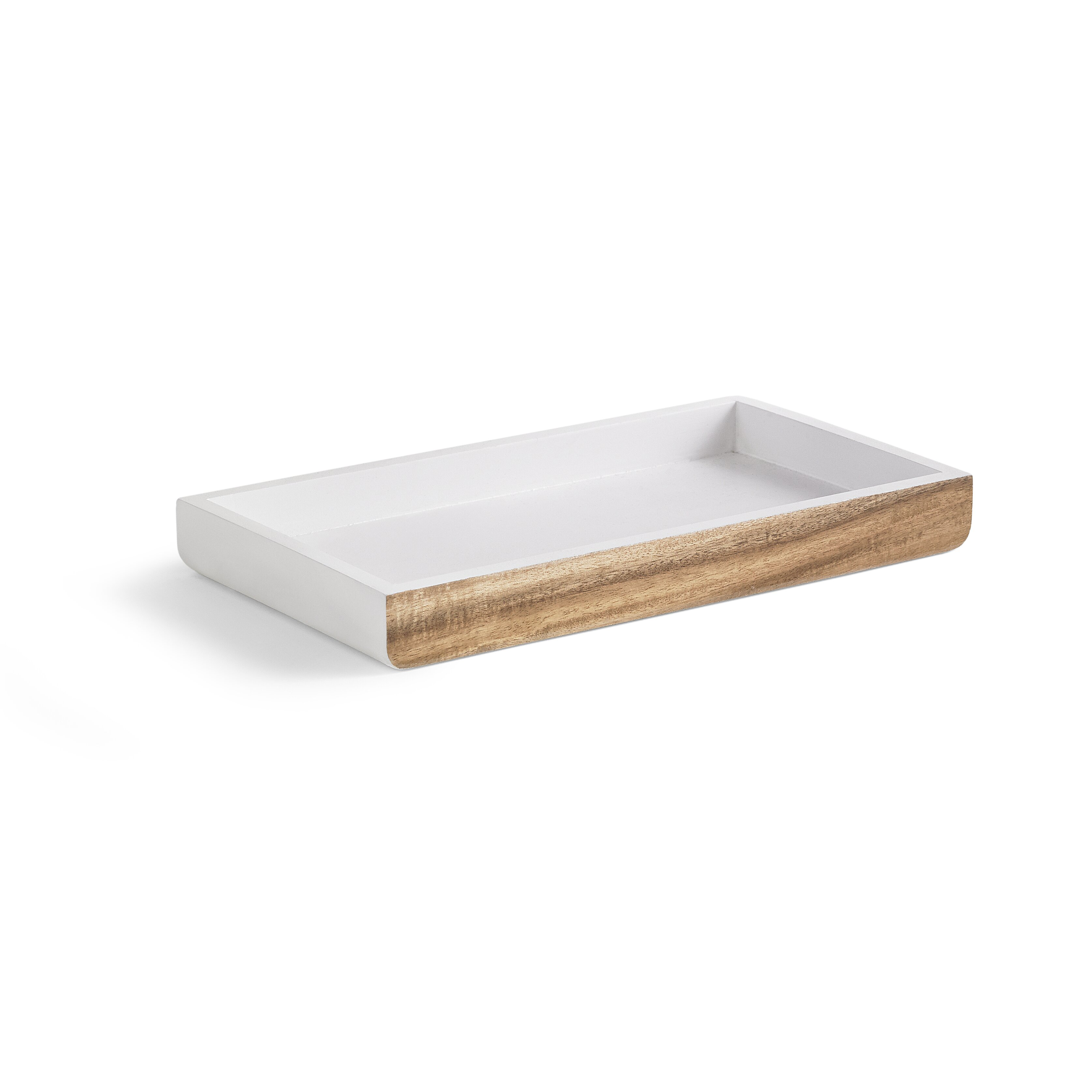 Kassatex habitat bathroom accessory tray wayfair for Bathroom tray