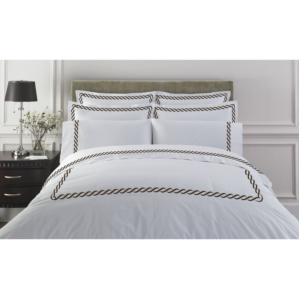Kassatex letto studio bedding cable duvet cover collection for Studio one bed cover