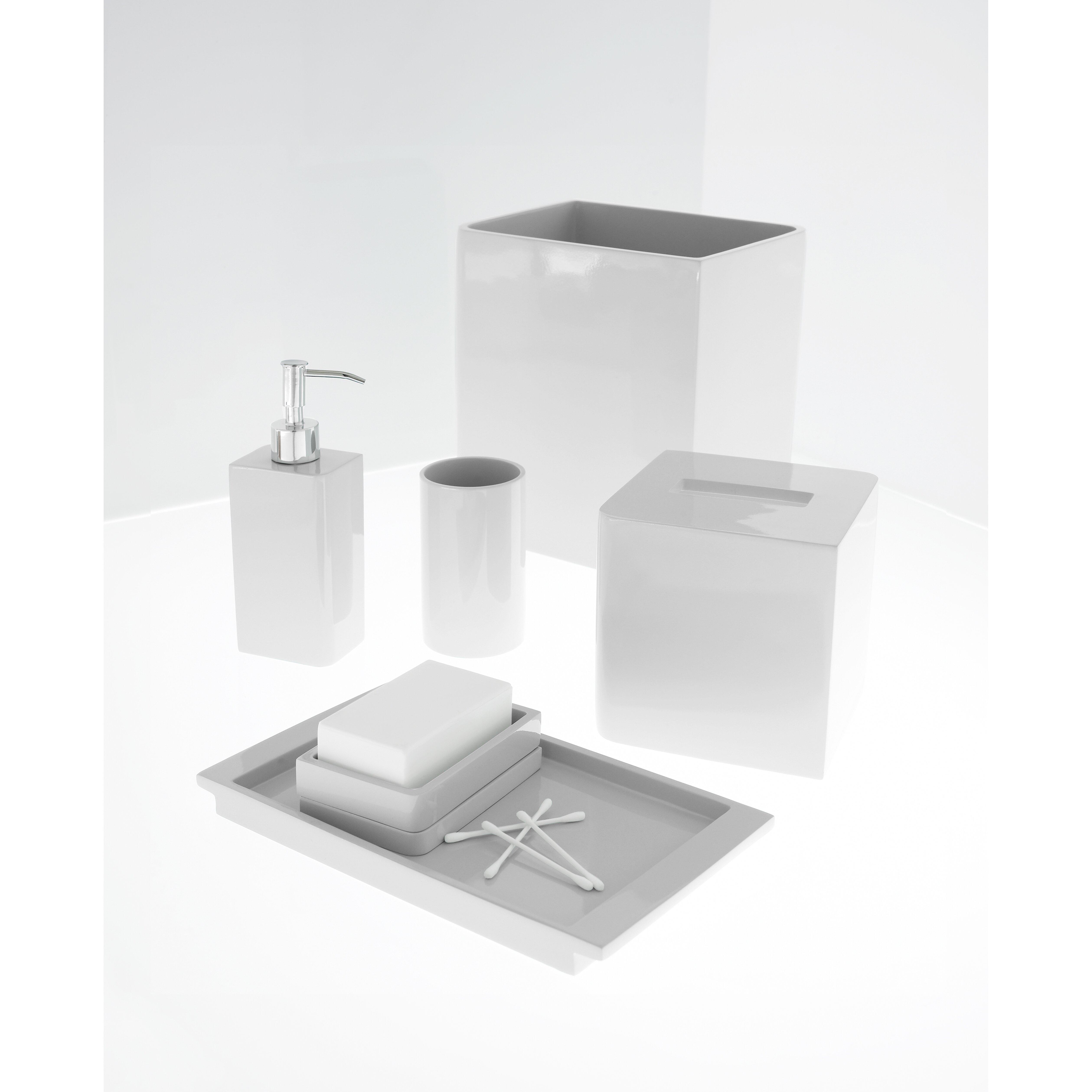 Kassatex lacca soap dispenser reviews wayfair for Bath ensembles
