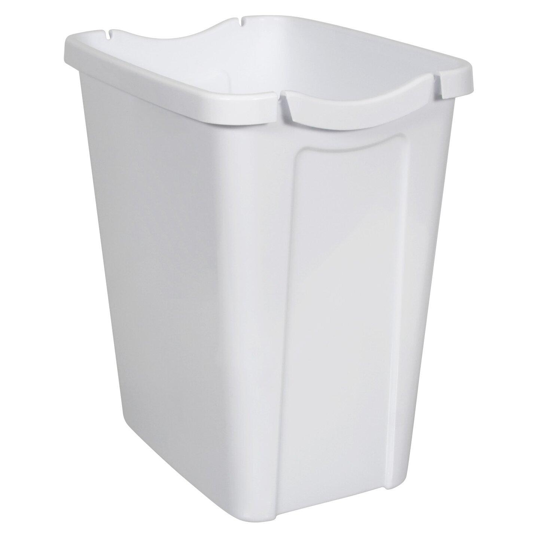 hefty recycle a bag 3 5 gallon plastic trash can reviews wayfair. Black Bedroom Furniture Sets. Home Design Ideas