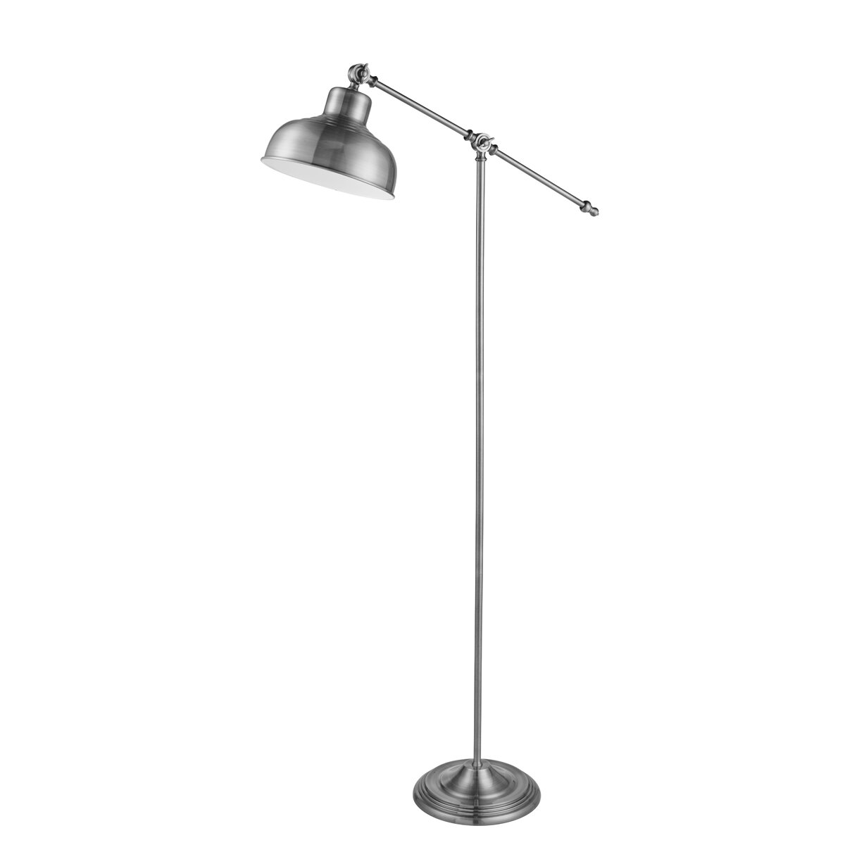 Searchlight macbeth 167cm arched floor lamp reviews for Wayfair industrial lamp