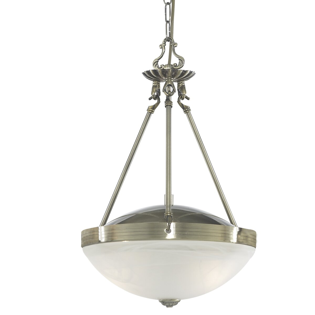 Searchlight Regency 2 Light Inverted Pendant Amp Reviews