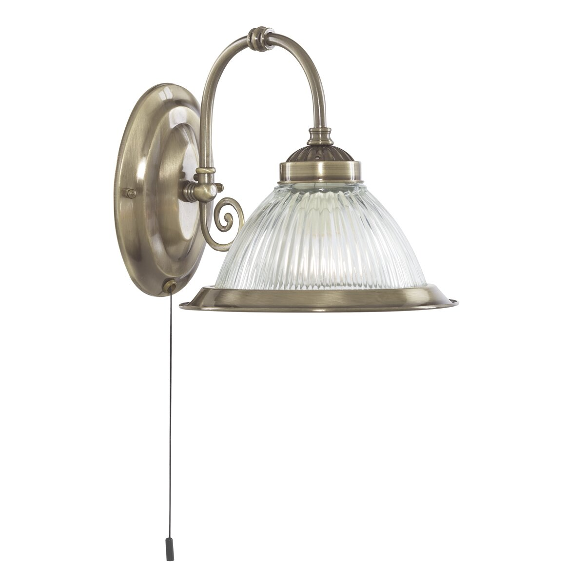 Wall Sconce With Magnifying Glass : Searchlight American Diner 1 Light Wall Sconce & Reviews Wayfair UK
