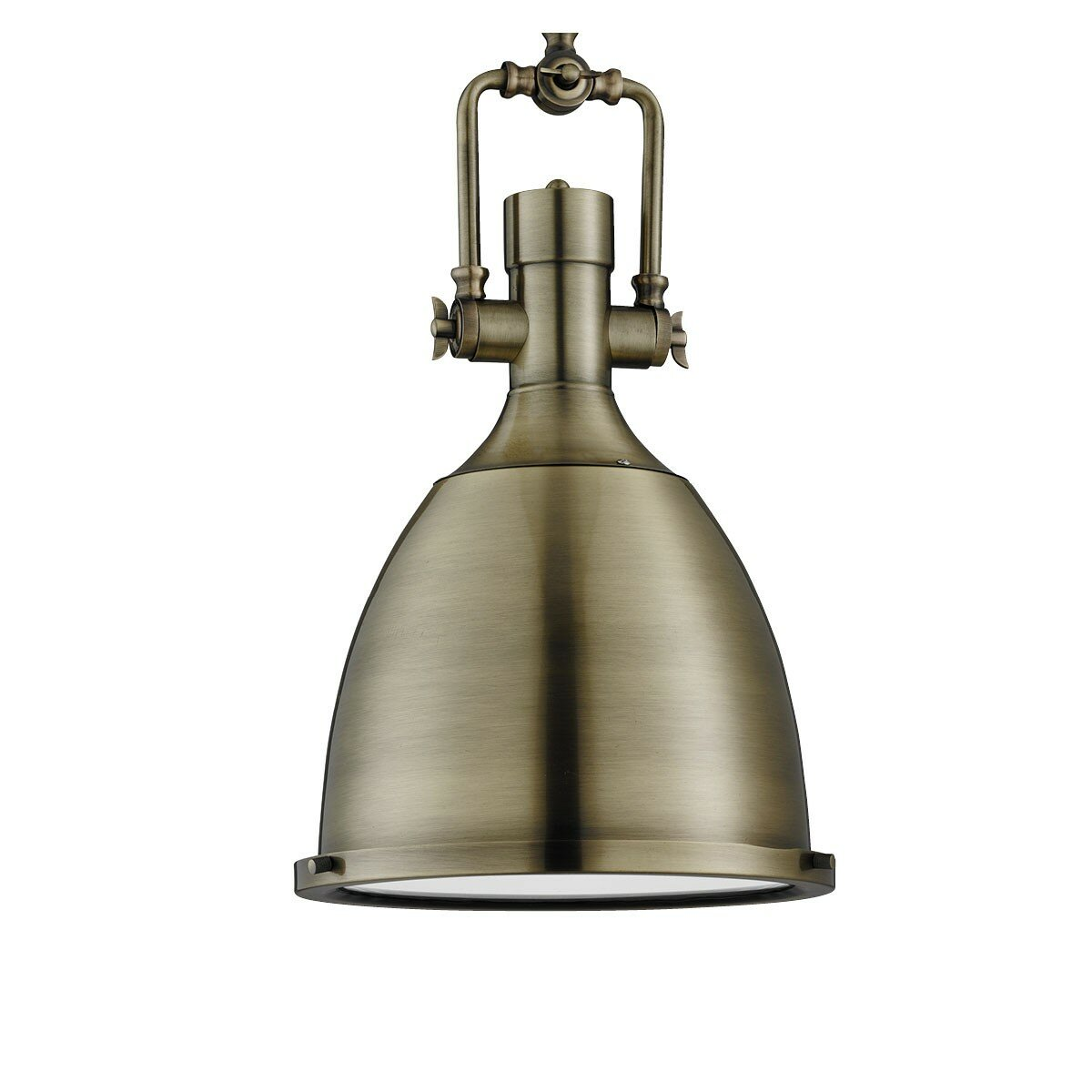 Searchlight industrial pendants 1 light mini pendant for Wayfair industrial lamp