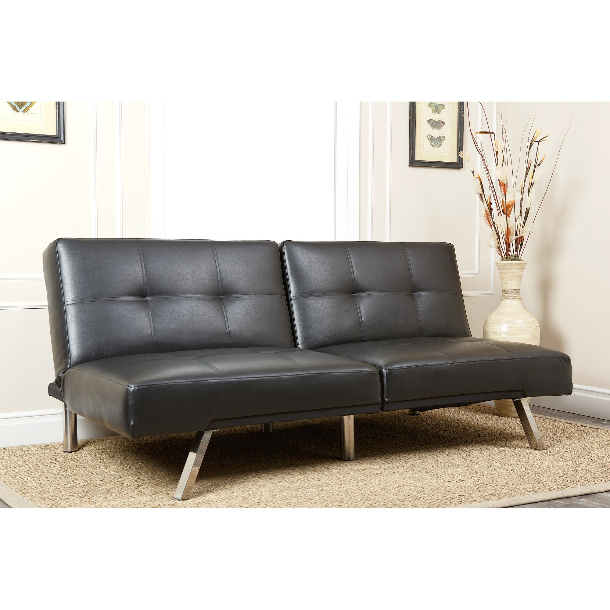 Abbyson living aspen convertible sleeper sofa reviews for Convertible furniture