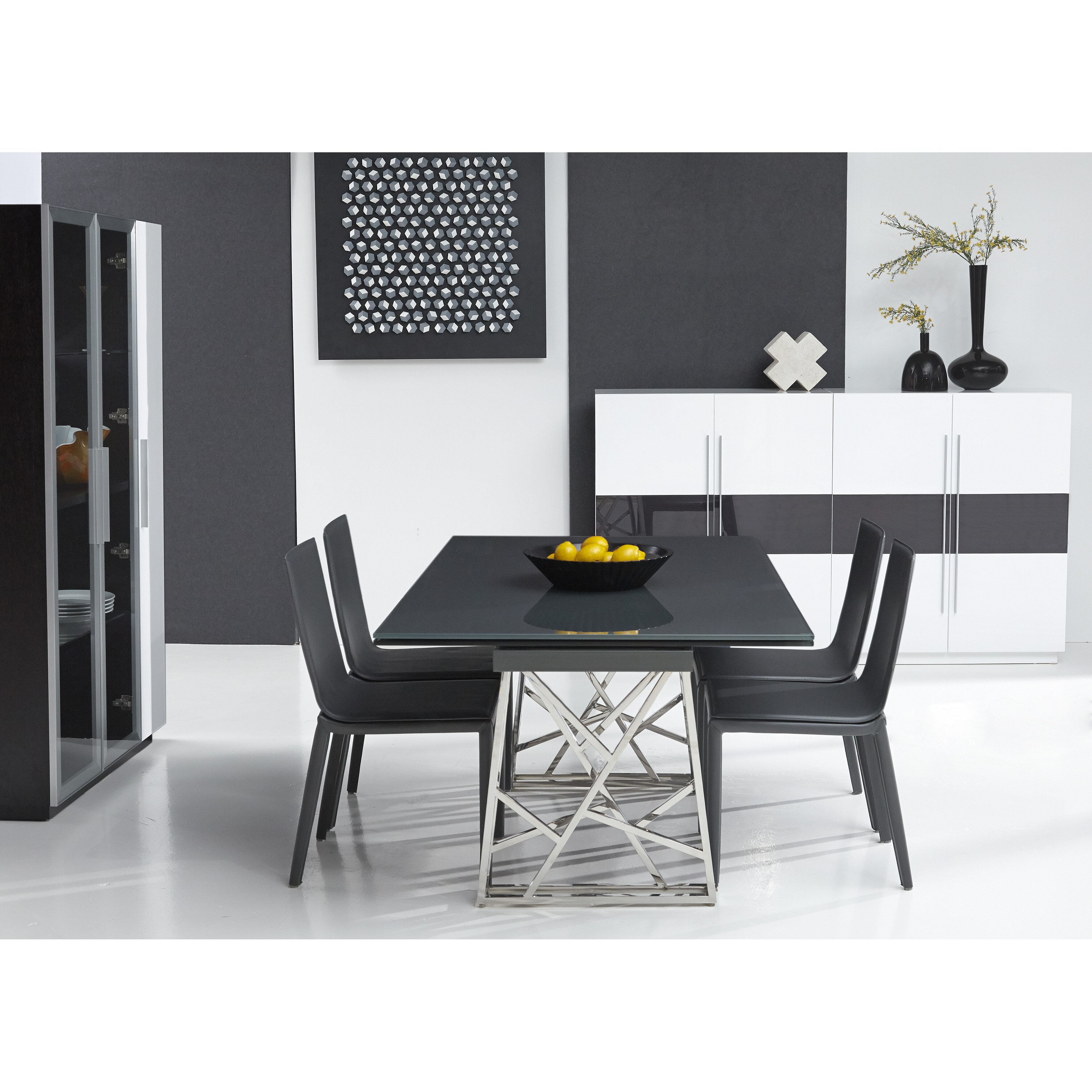 Bellini Modern Living Borg Expandable Dining Table  :  from www.wayfair.com size 3542 x 3542 jpeg 1587kB