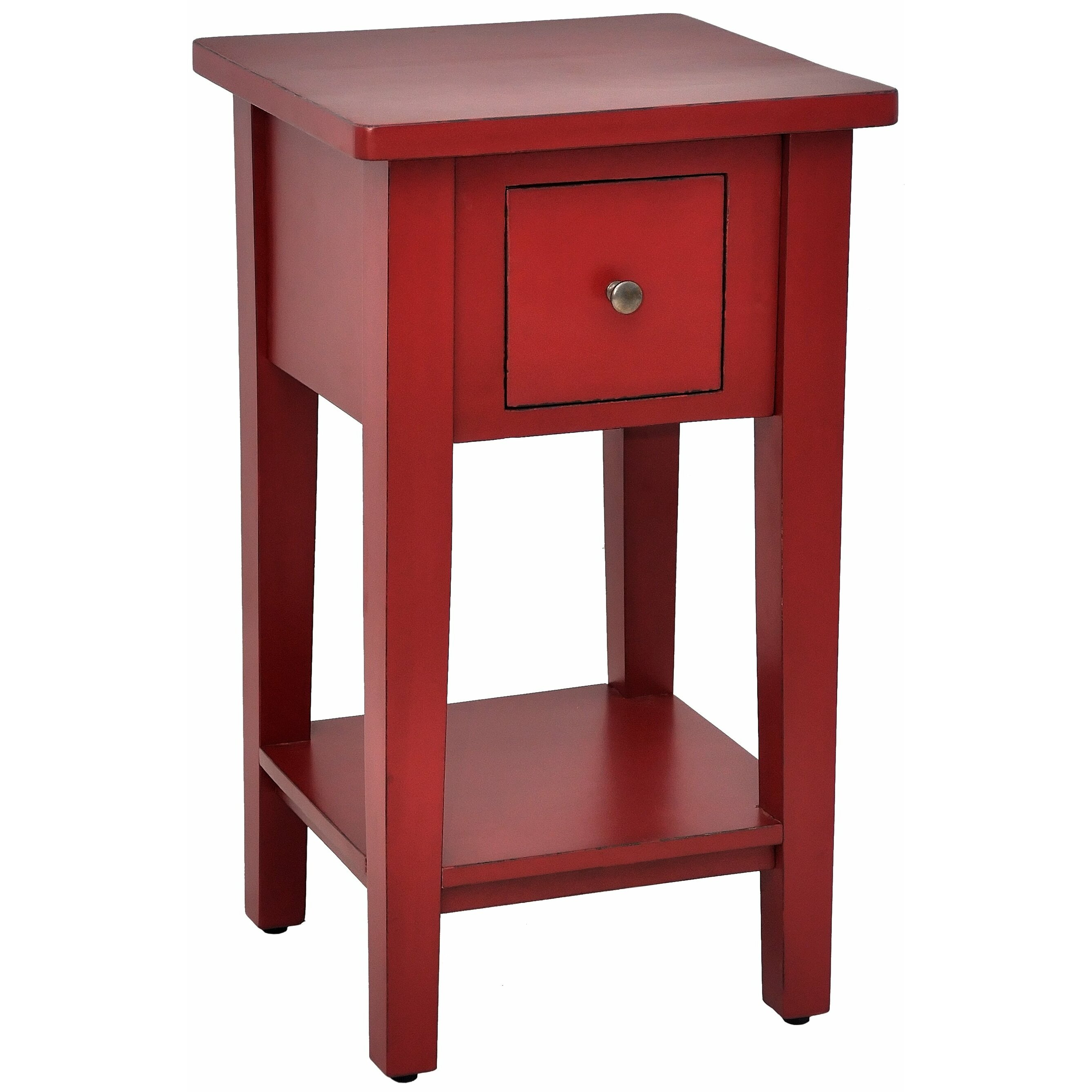 Casual elements simple end table reviews wayfair for Simple html table