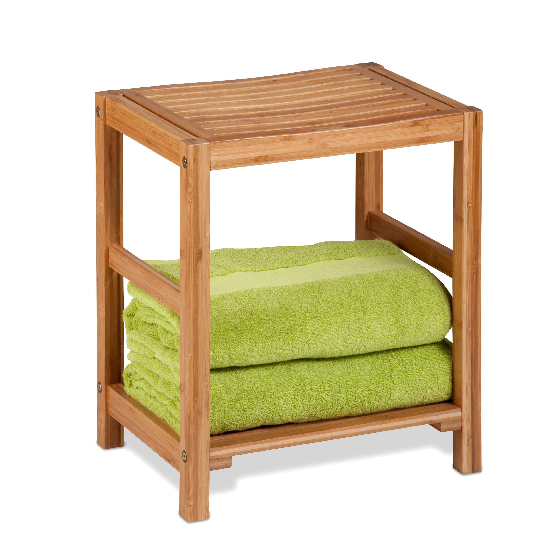 Honey Can Do Bamboo Spa Bench Reviews Wayfair