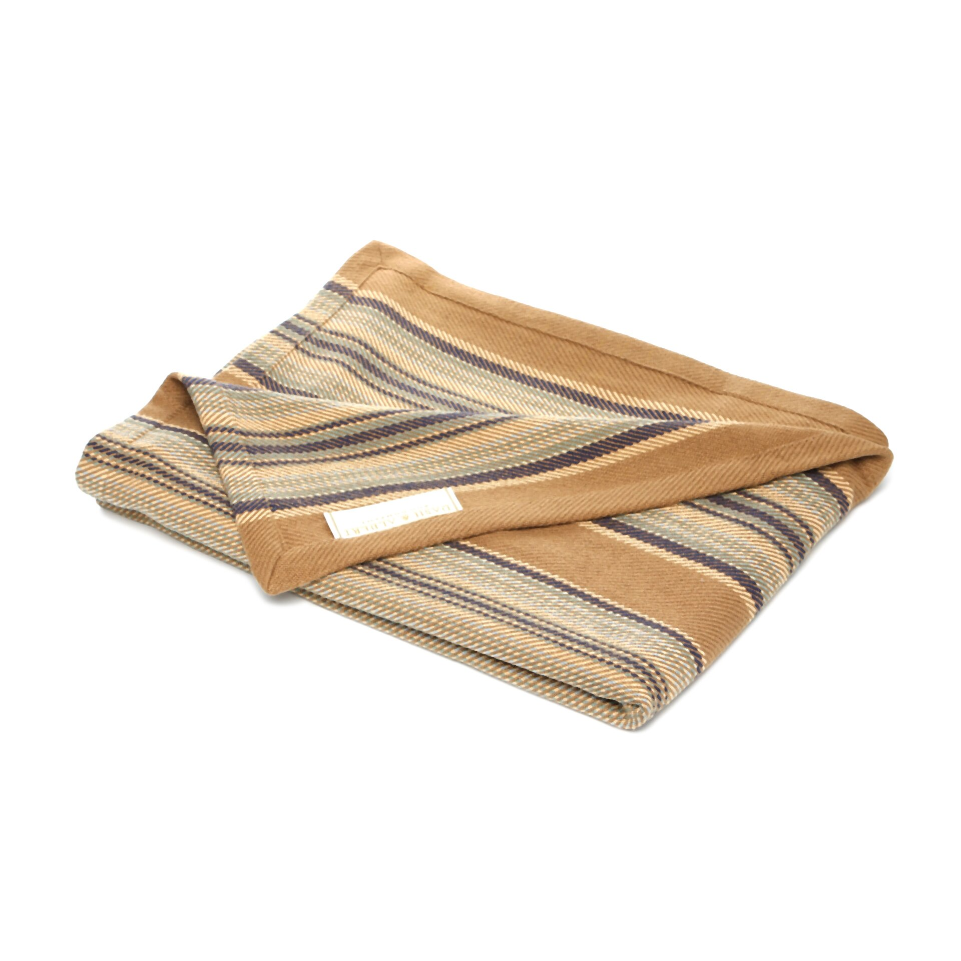 Dash and albert rugs heron stripe woven cotton throw for Dash and albert blankets