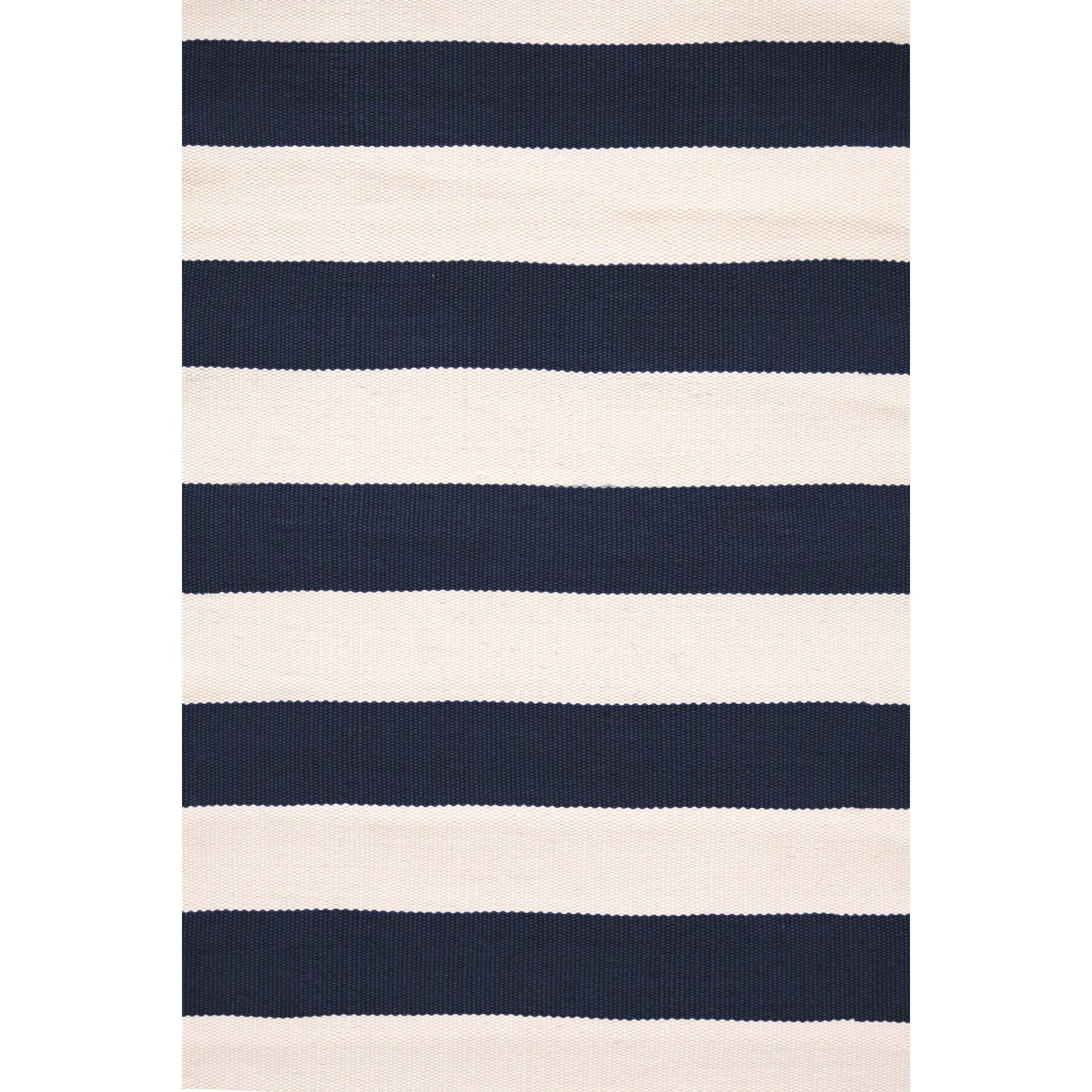 dash and albert rugs catamaran hand woven blue white. Black Bedroom Furniture Sets. Home Design Ideas