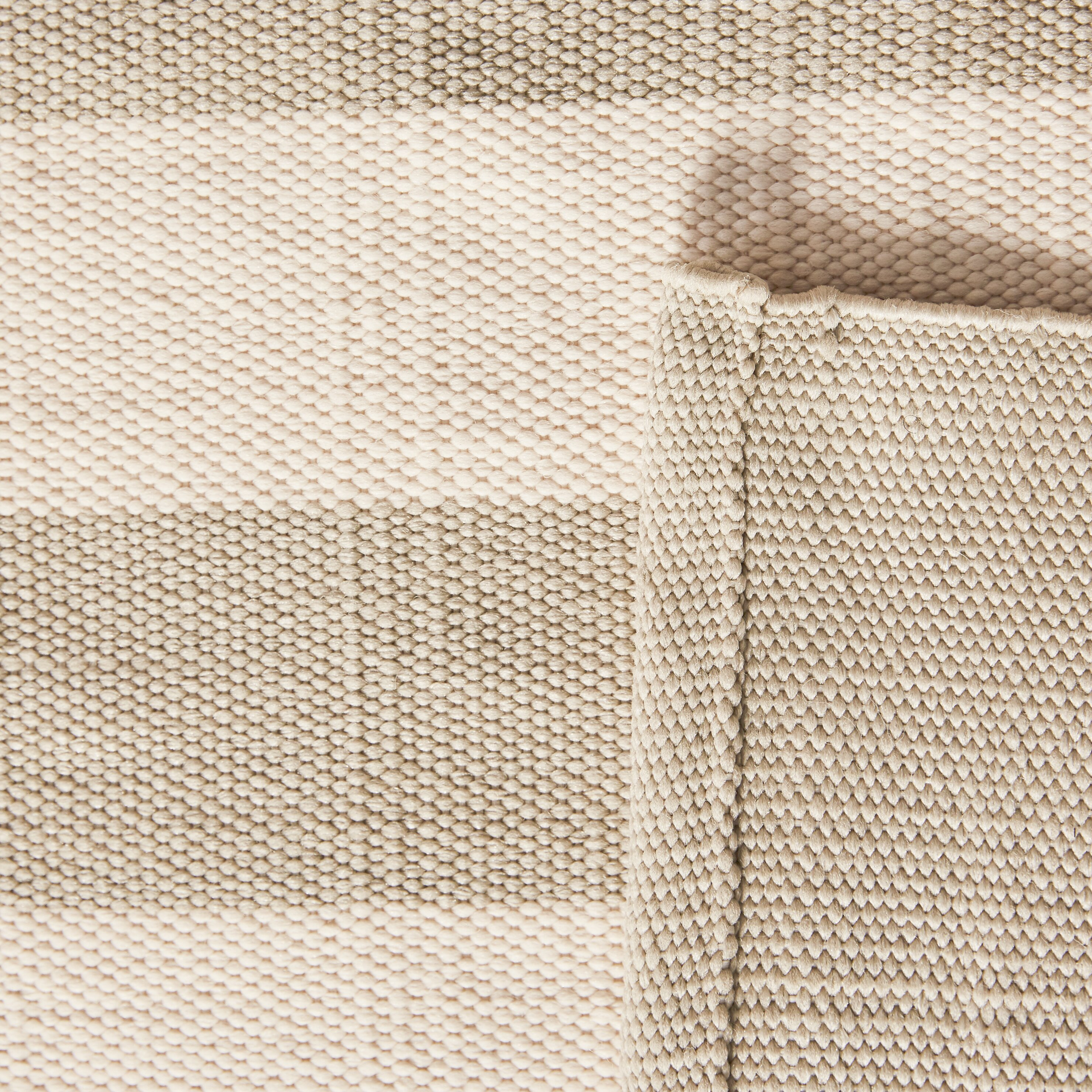 Dash and albert rugs catamaran hand woven platinum ivory for Dash and albert wool rugs