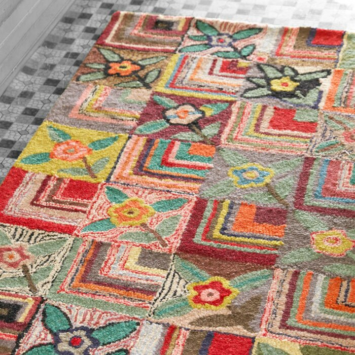 Dash and albert rugs hooked area rug reviews wayfair for Dash and albert wool rugs