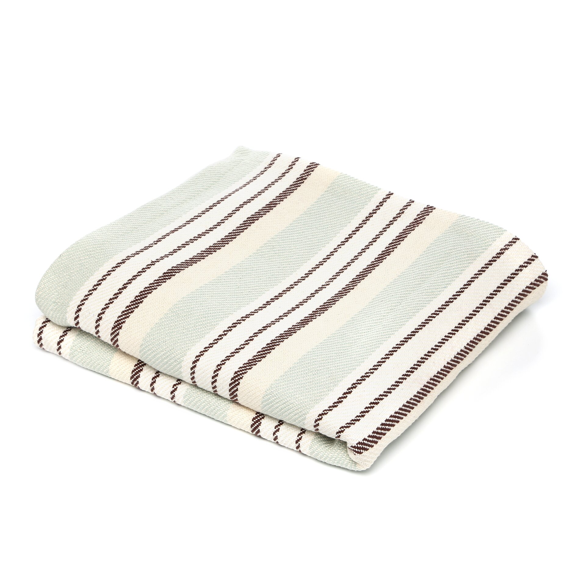Dash and albert rugs vanilla woven cotton throw reviews for Dash and albert blankets