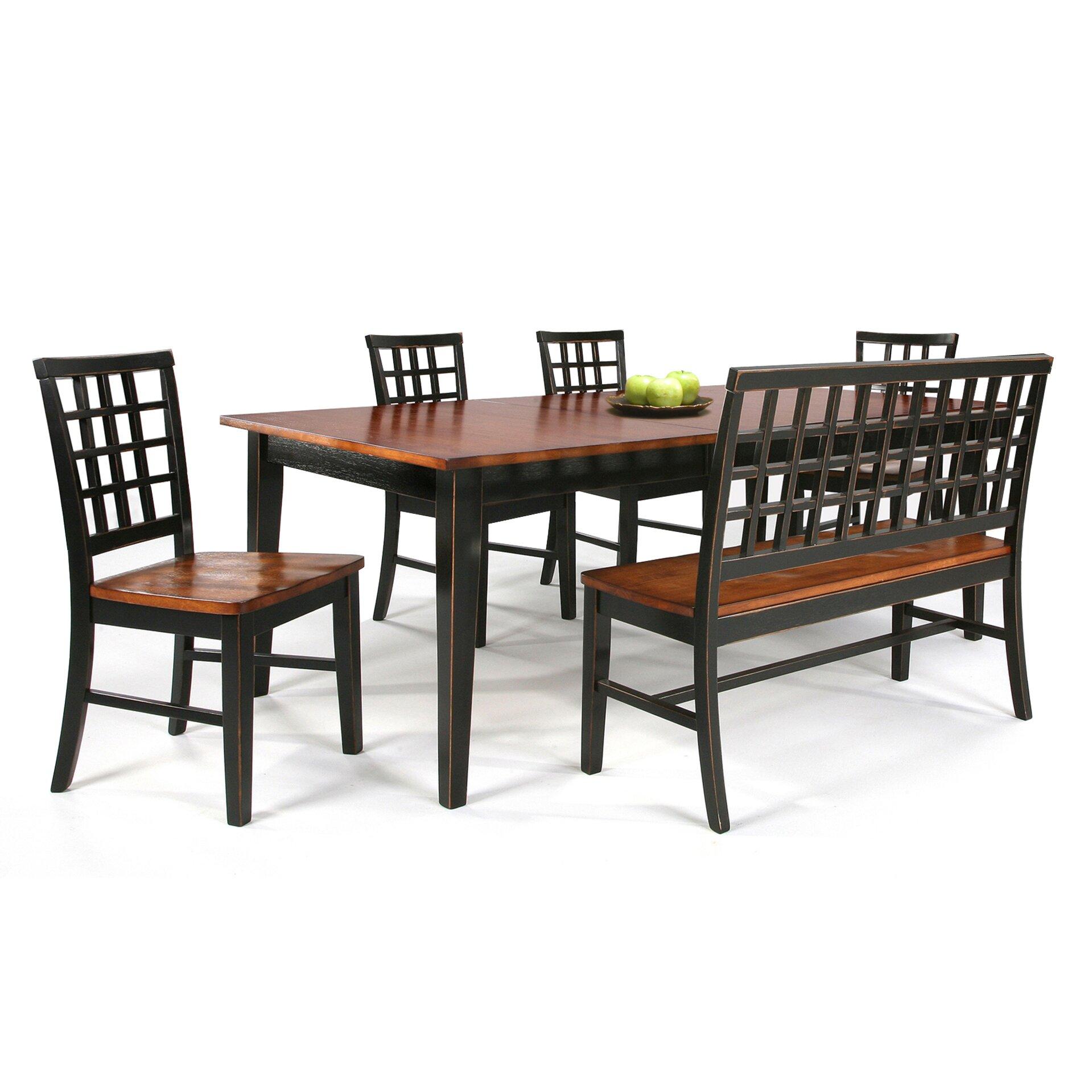 imagio home arlington lattice back side chair reviews wayfair. Black Bedroom Furniture Sets. Home Design Ideas