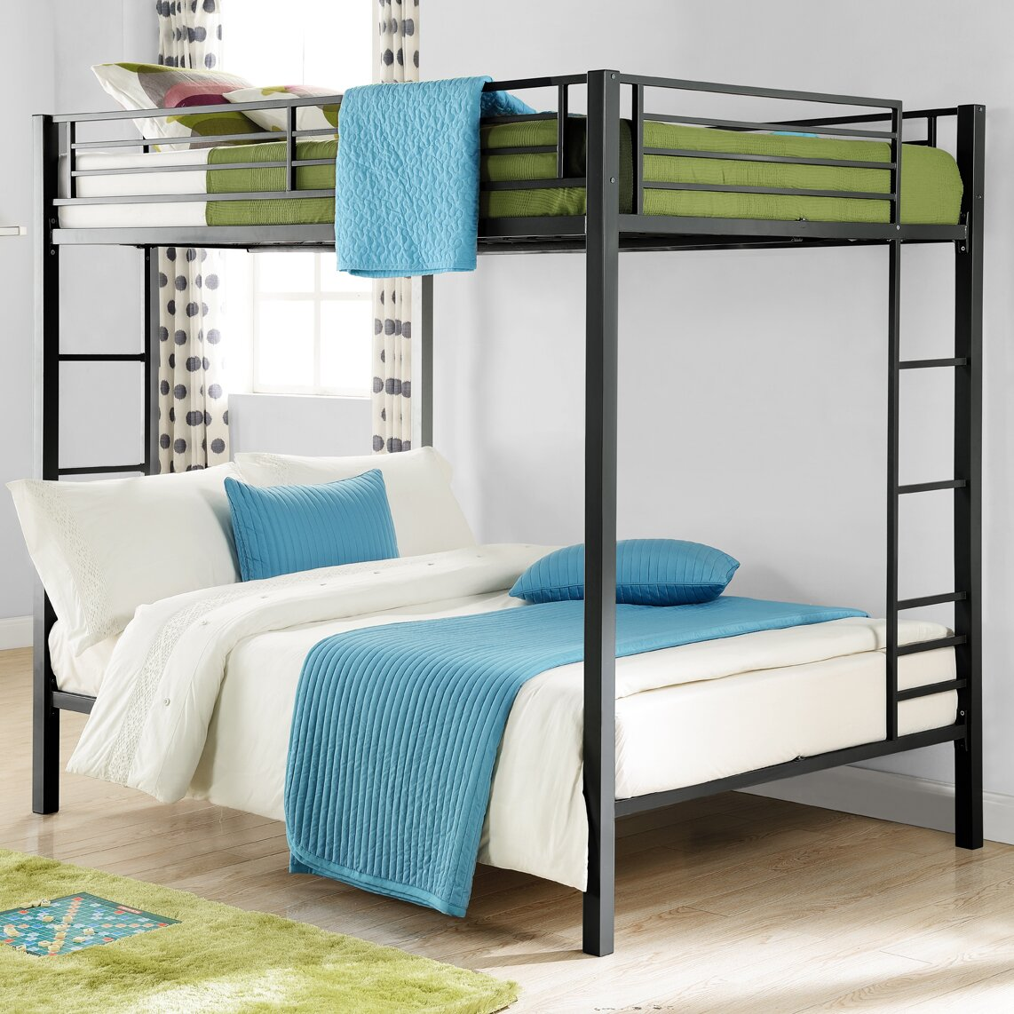 DHP Full Over Full Bunk Bed & Reviews