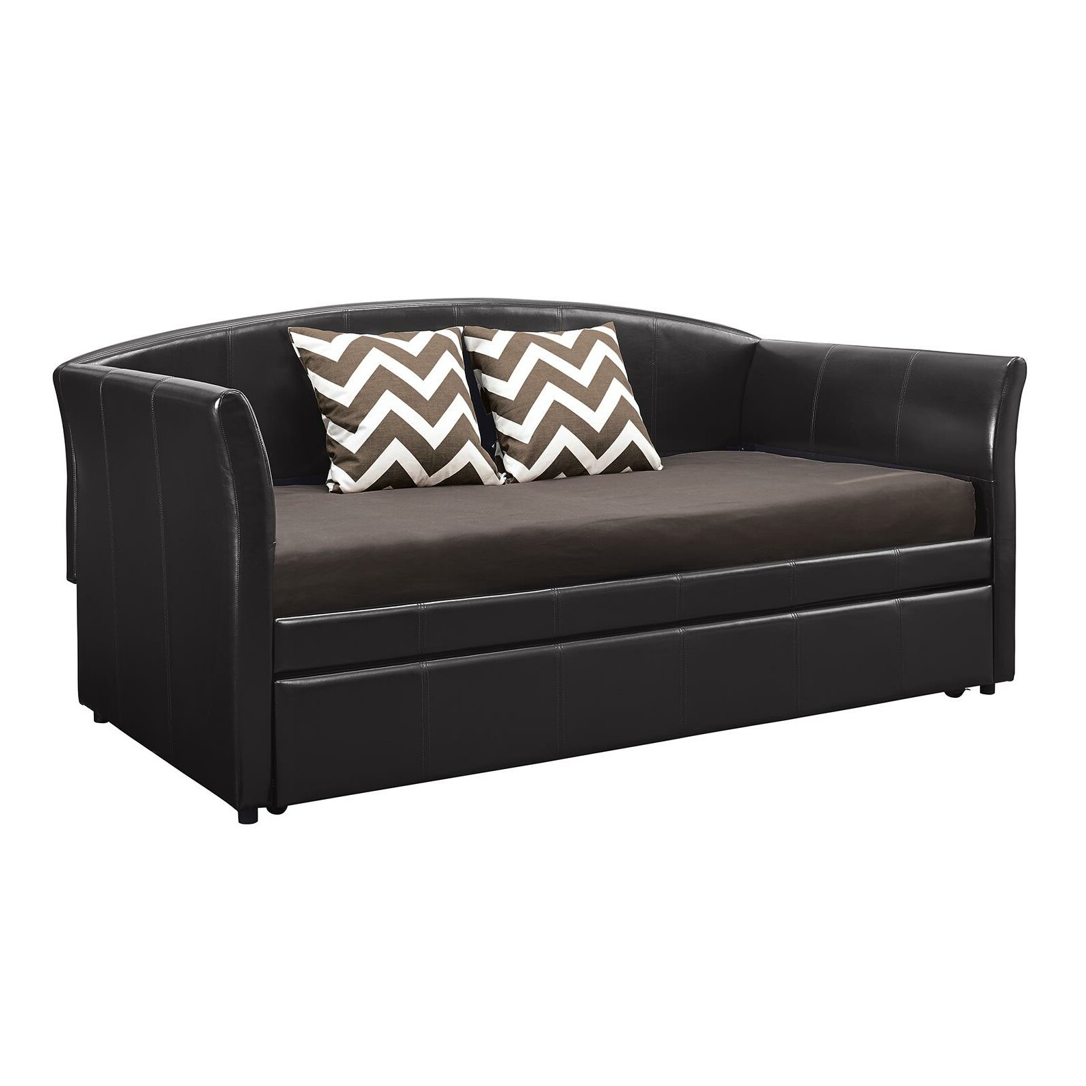 Dhp Halle Daybed With Trundle Amp Reviews Wayfair