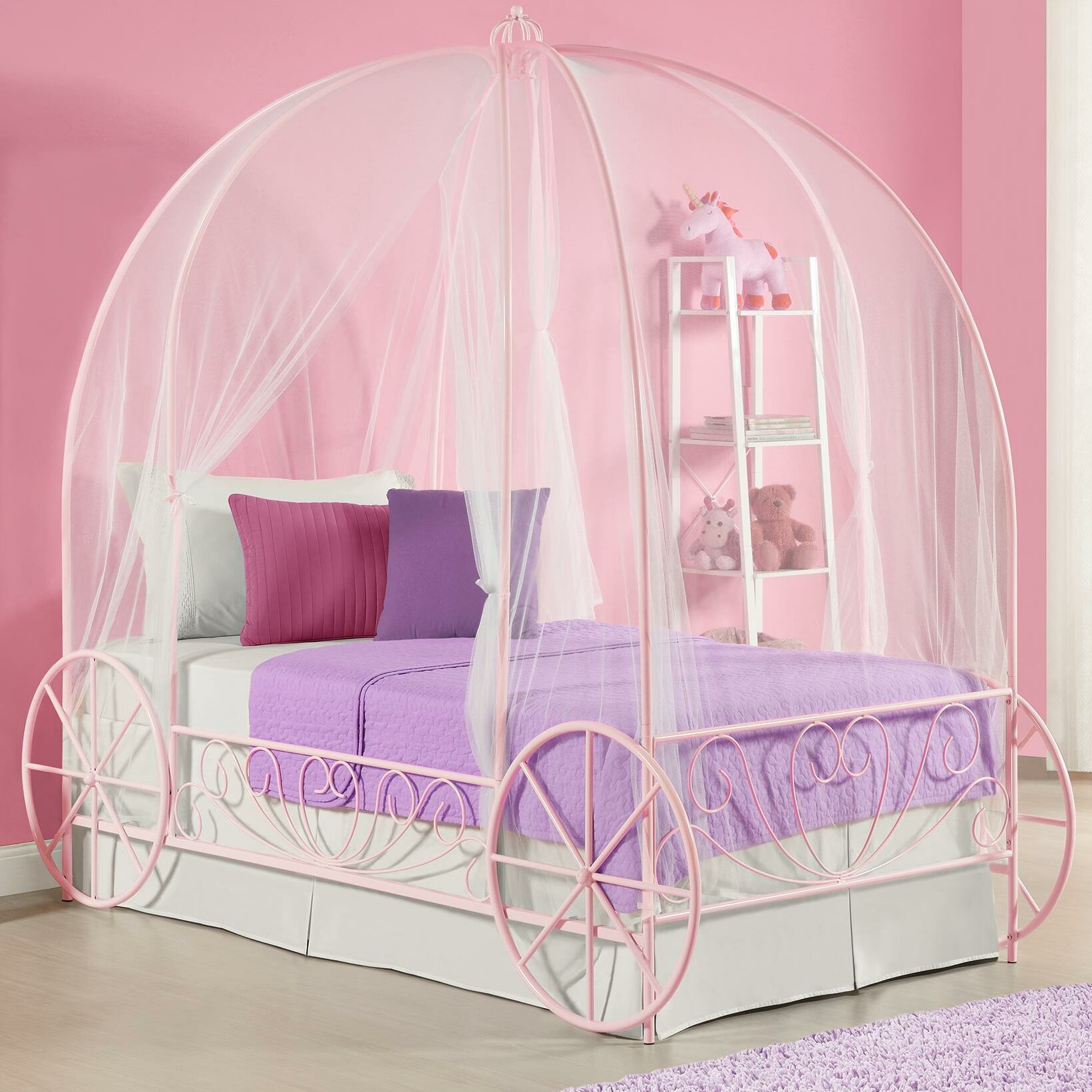 canopy beds for twin - photo #12