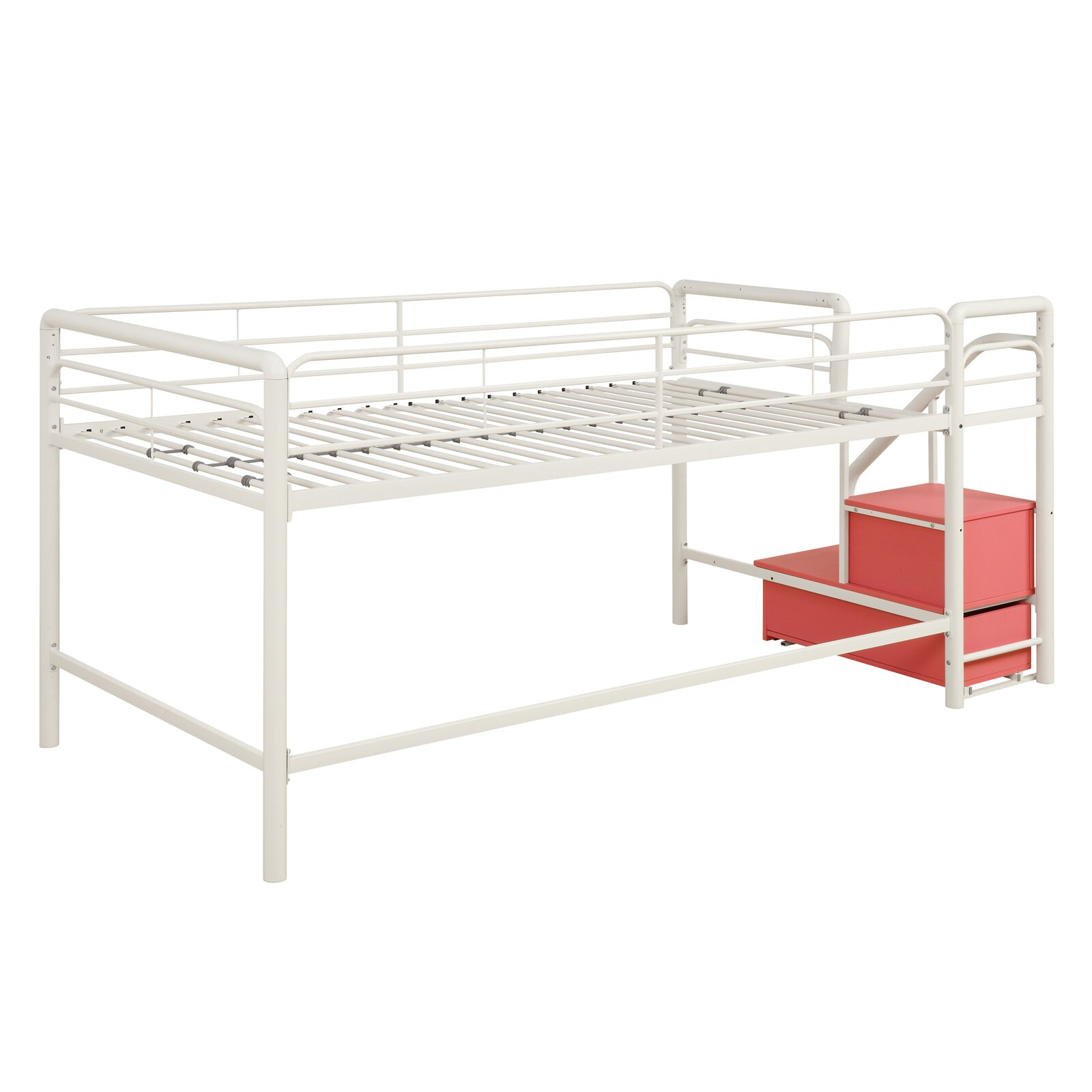 Dhp Junior Twin Loft Bed With Storage Amp Reviews Wayfair