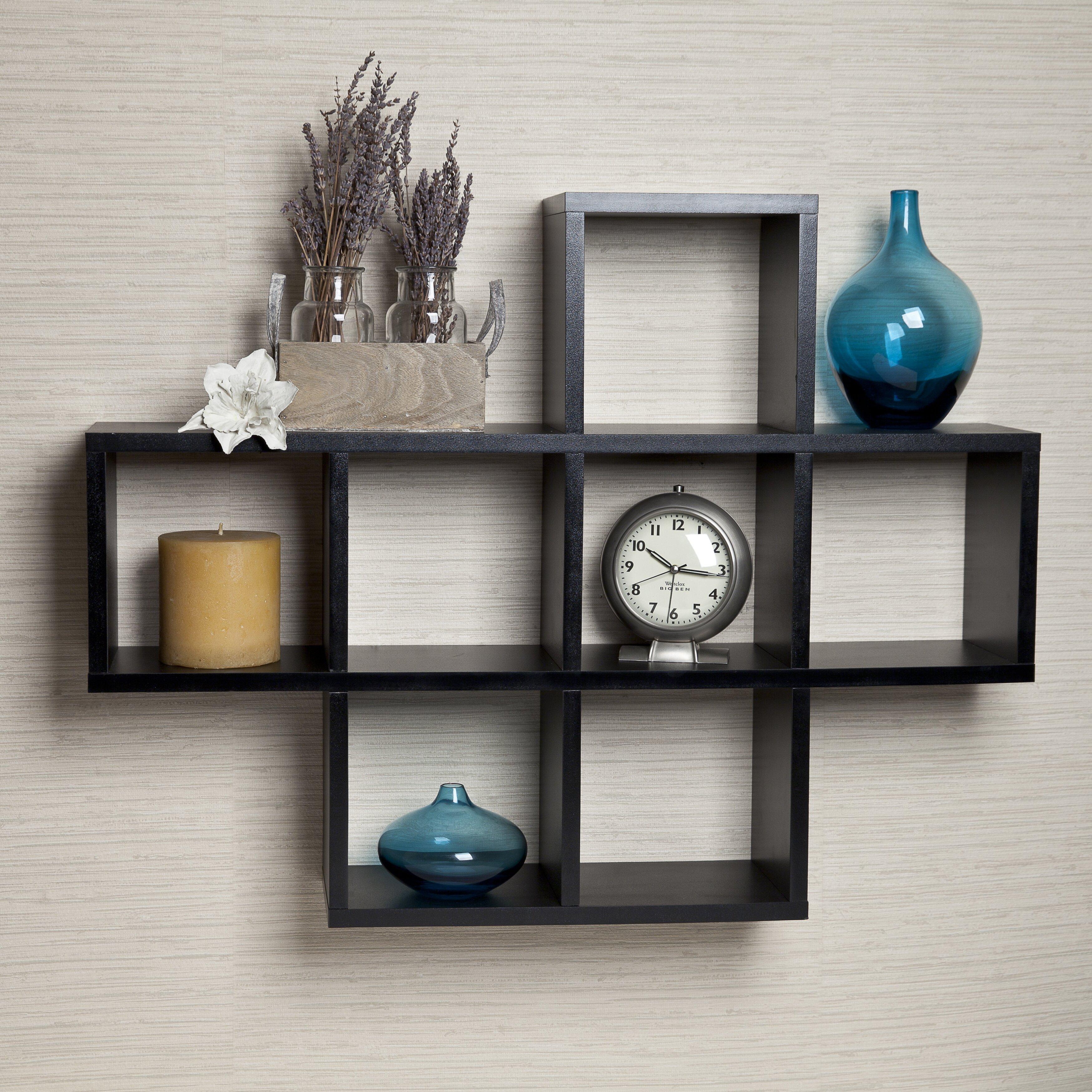 DanyaB Cubby Wall Shelf & Reviews   Wayfair