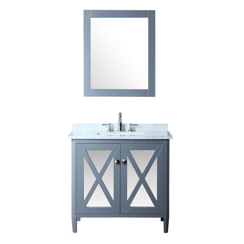 Ariel Bath Summit 36 Single Bathroom Vanity Set With