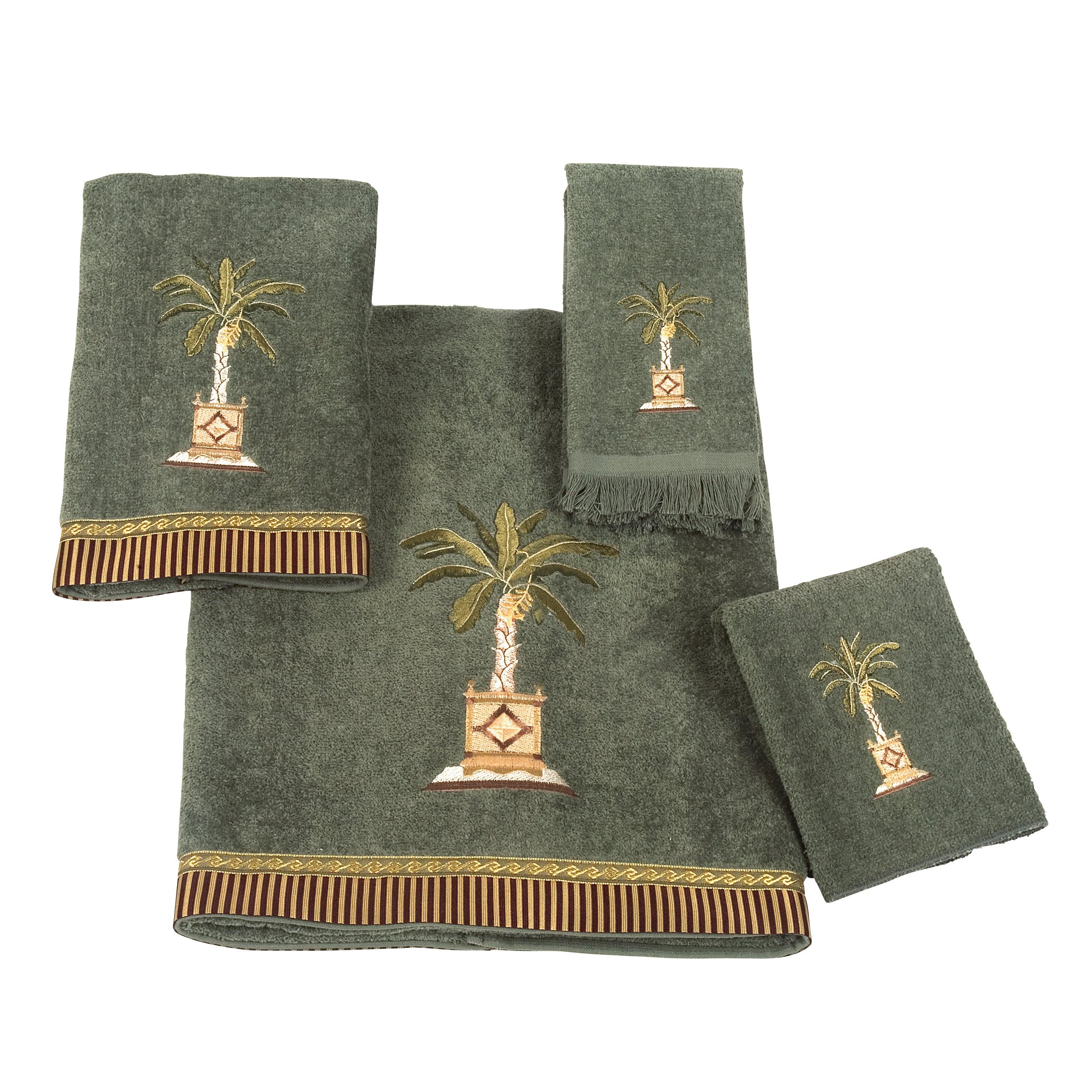 Avanti Linens Banana Palm 4 Piece Towel Set & Reviews ...