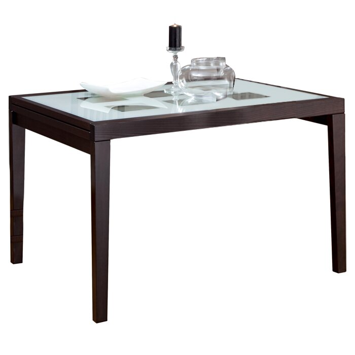 Domitalia poker 120 extendable dining table reviews for Table 120 extensible