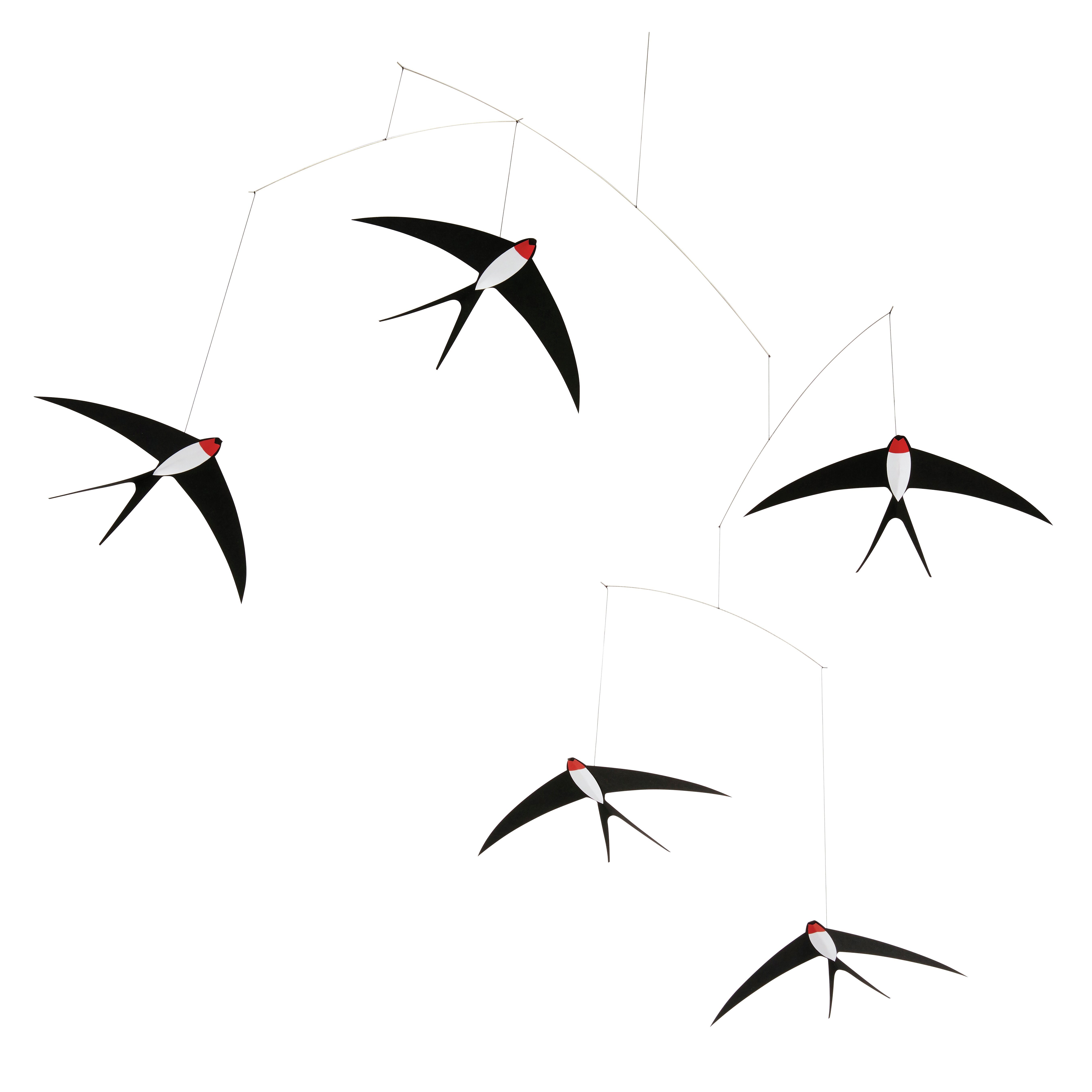 Flensted mobiles 5 flying swallows mobile reviews wayfair - Flensted mobiles ...