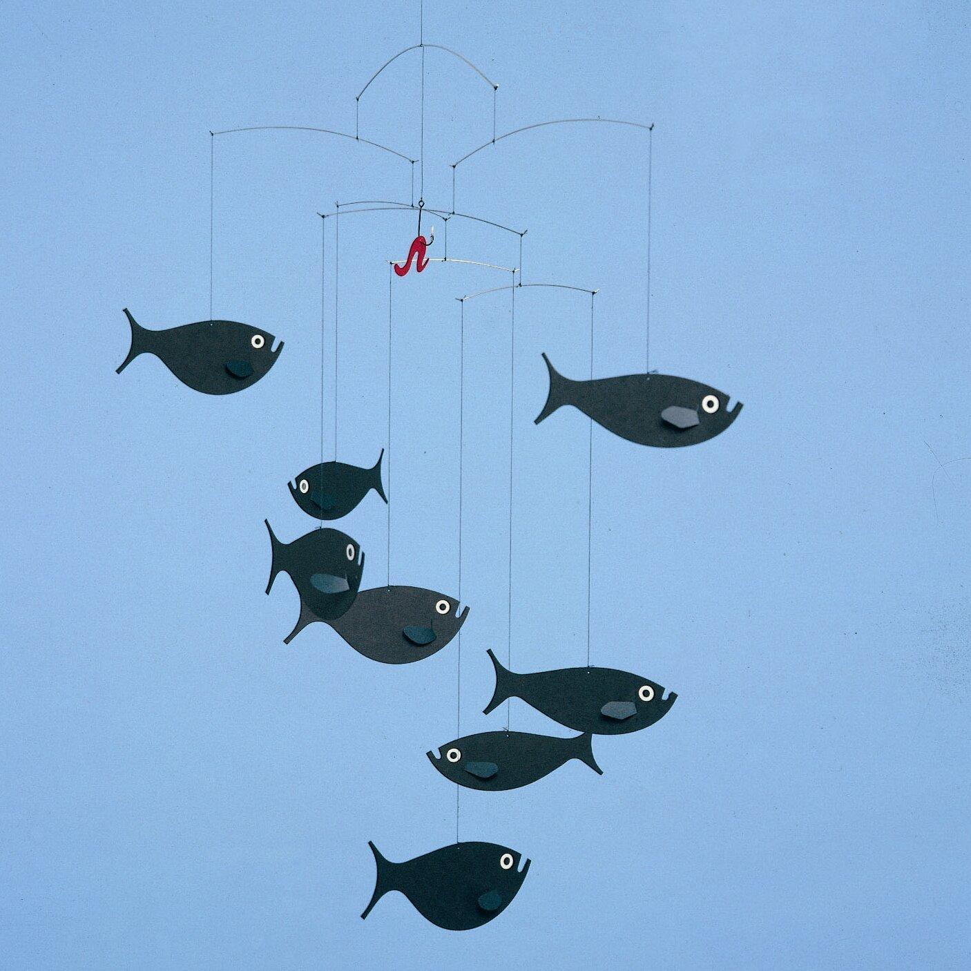 Flensted mobiles shoal of fish mobile reviews wayfair - Flensted mobiles ...