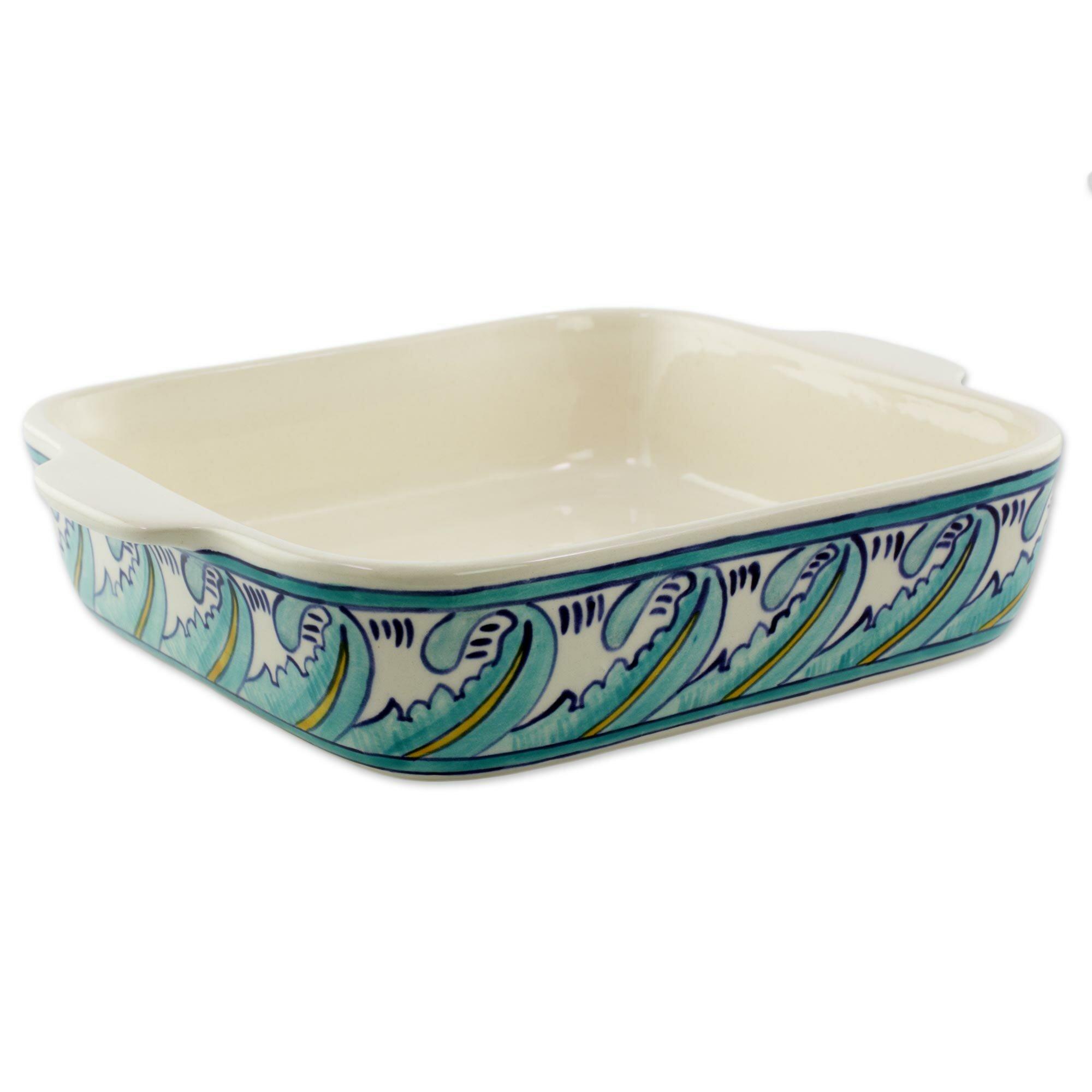 Novica Handcrafted Ceramic Baking Dish Wayfair