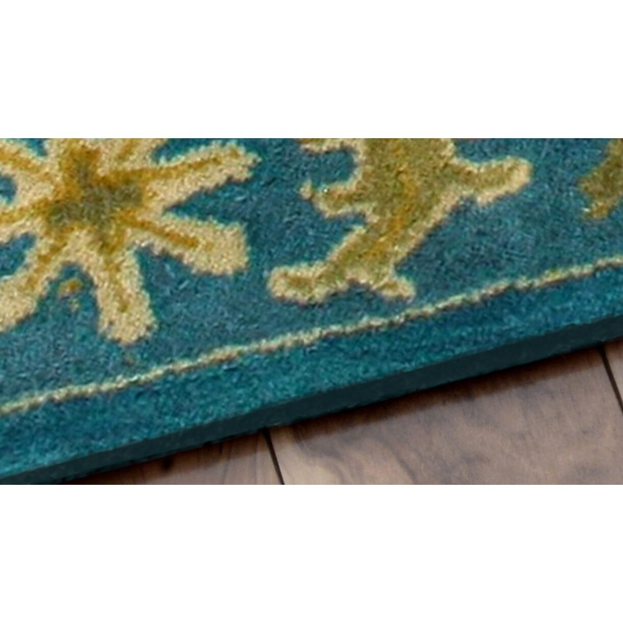 Nuloom Crandall Turquoise Area Rug Reviews: NuLOOM Overdye Turquoise Overdyed Area Rug & Reviews