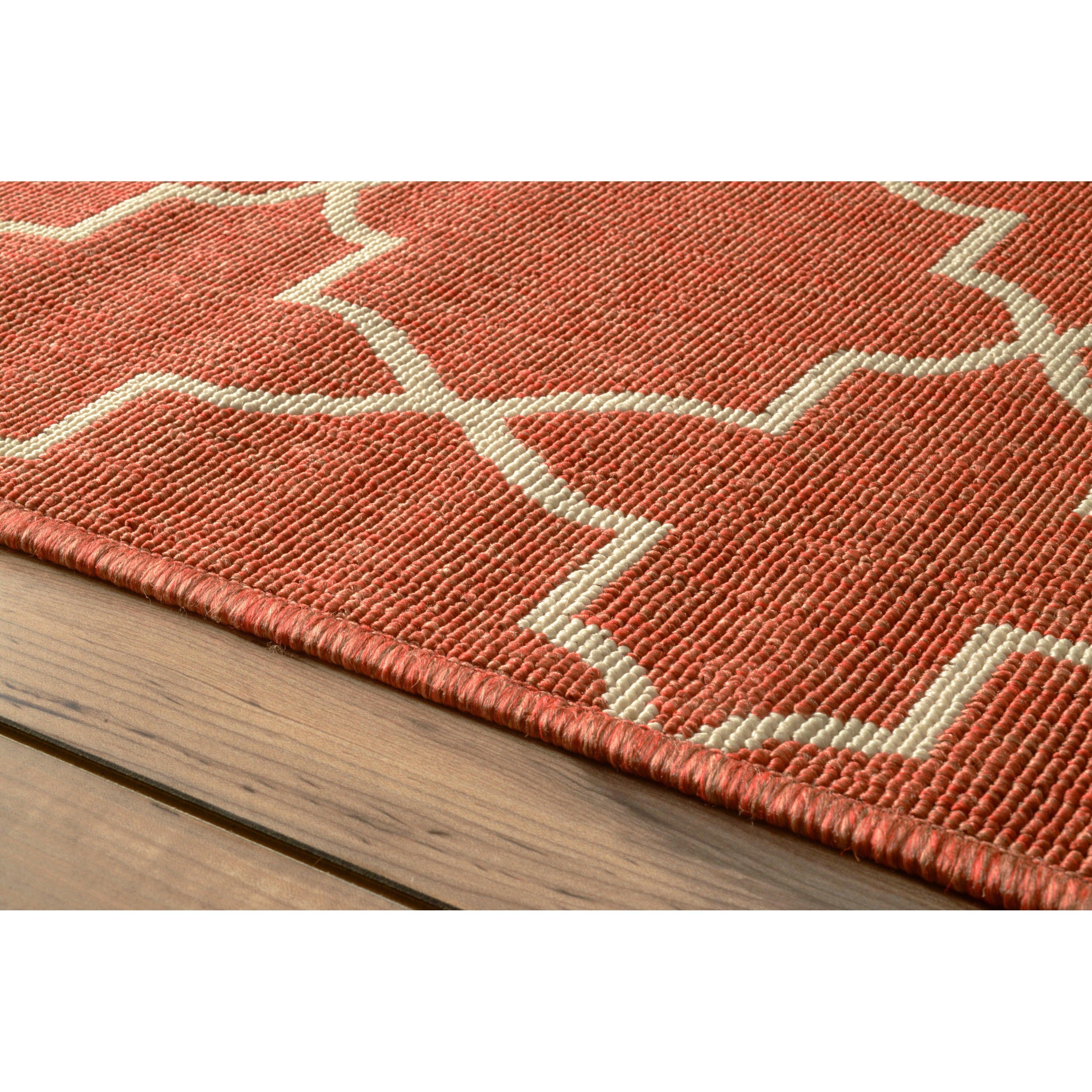 nuLOOM Trellis Opal Brick Outdoor Area Rug & Reviews